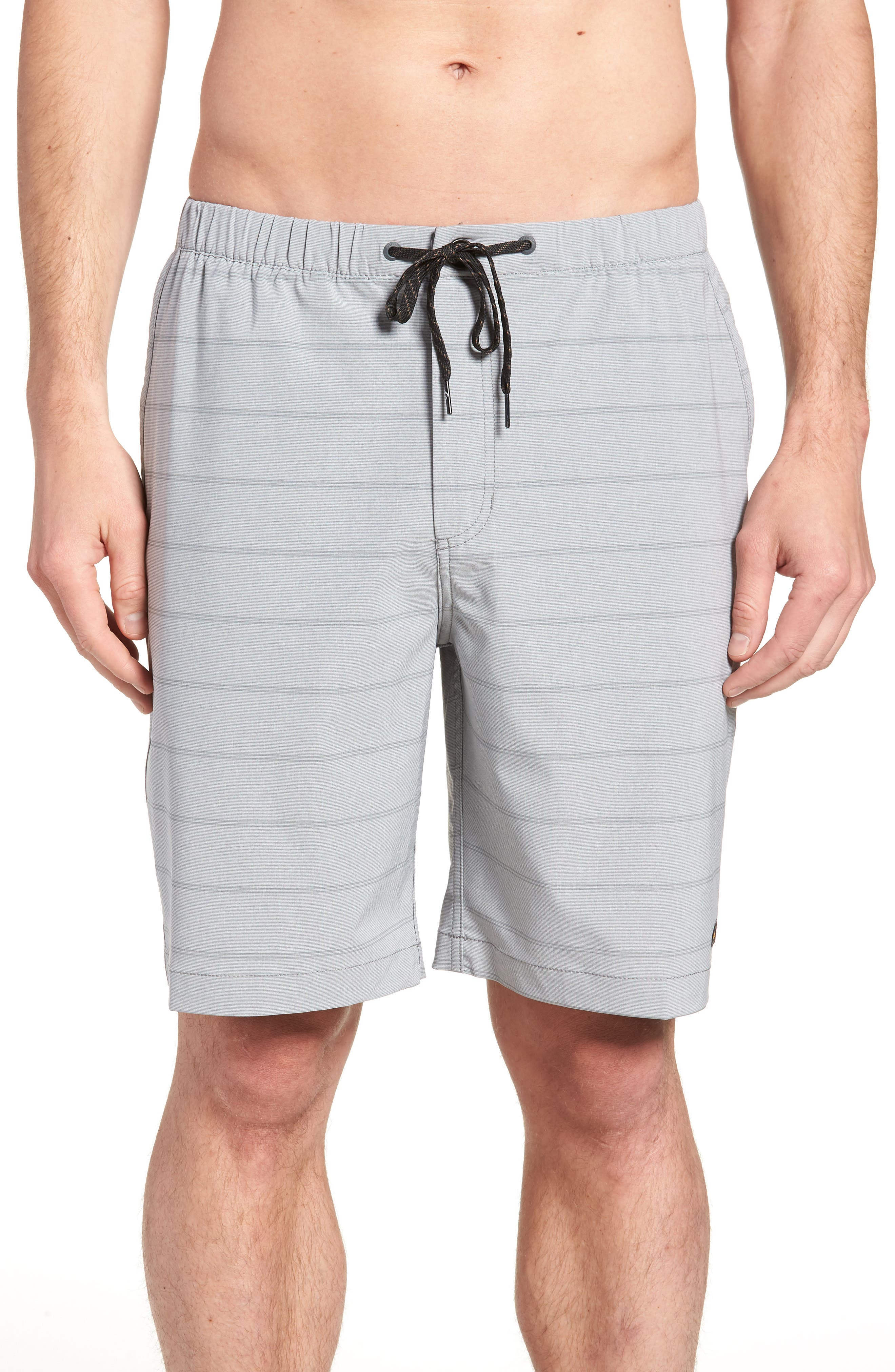 Suva Amphibian Hybrid Shorts,                             Main thumbnail 1, color,                             STEEPLE GRAY