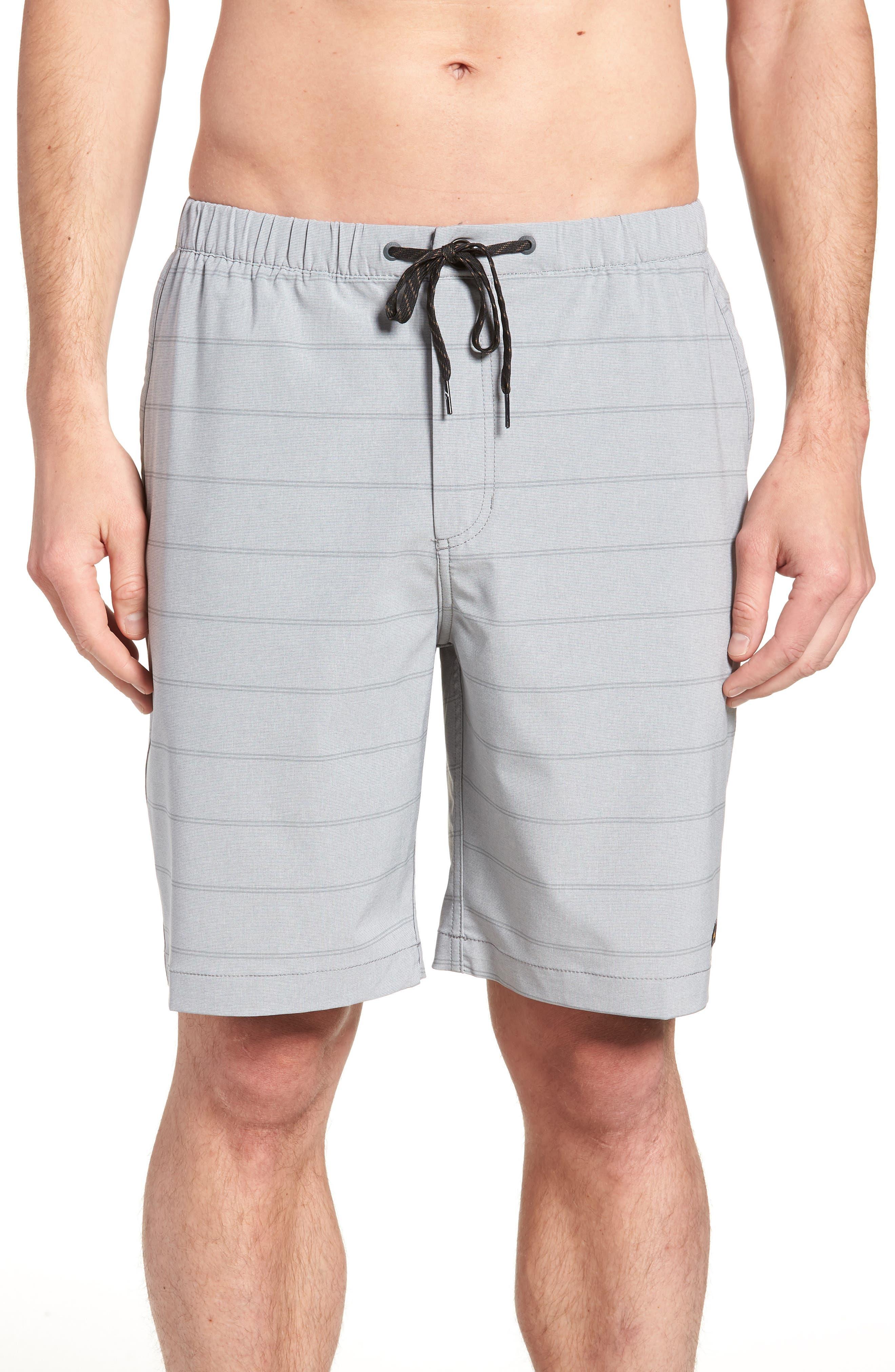 Suva Amphibian Hybrid Shorts,                         Main,                         color, STEEPLE GRAY