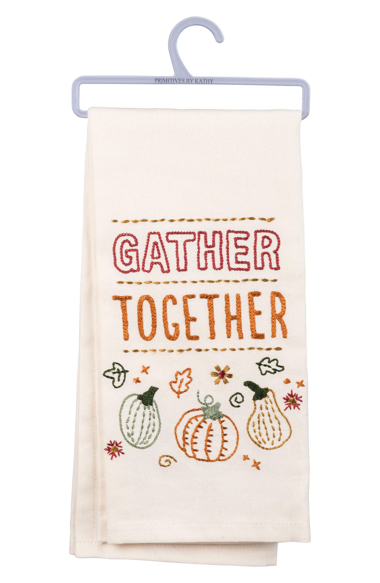 Gather Together Dish Towel,                         Main,                         color, IVORY