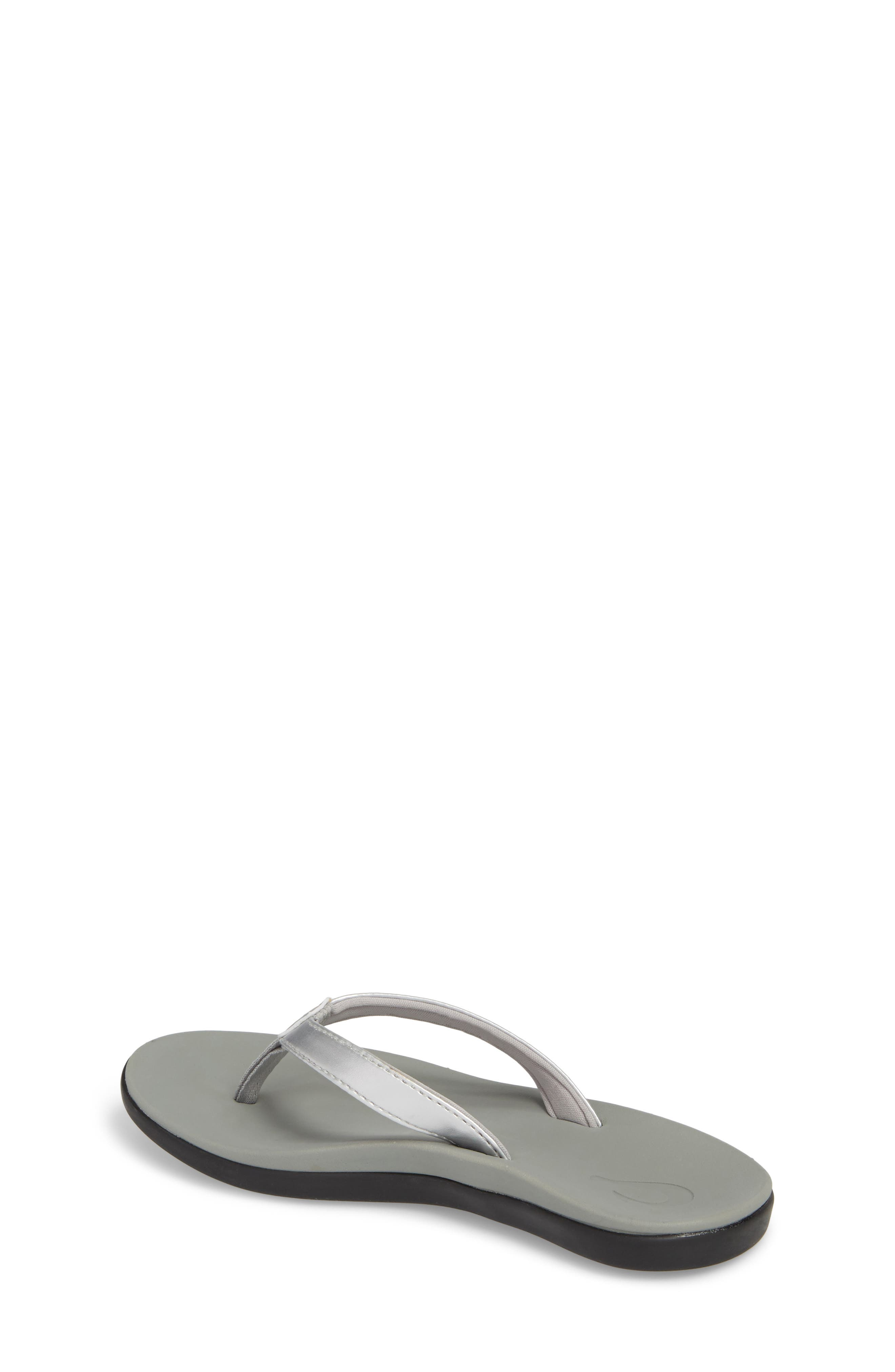 Ho'opio Flip Flop,                             Alternate thumbnail 2, color,                             SILVER STAR/ PALE GREY
