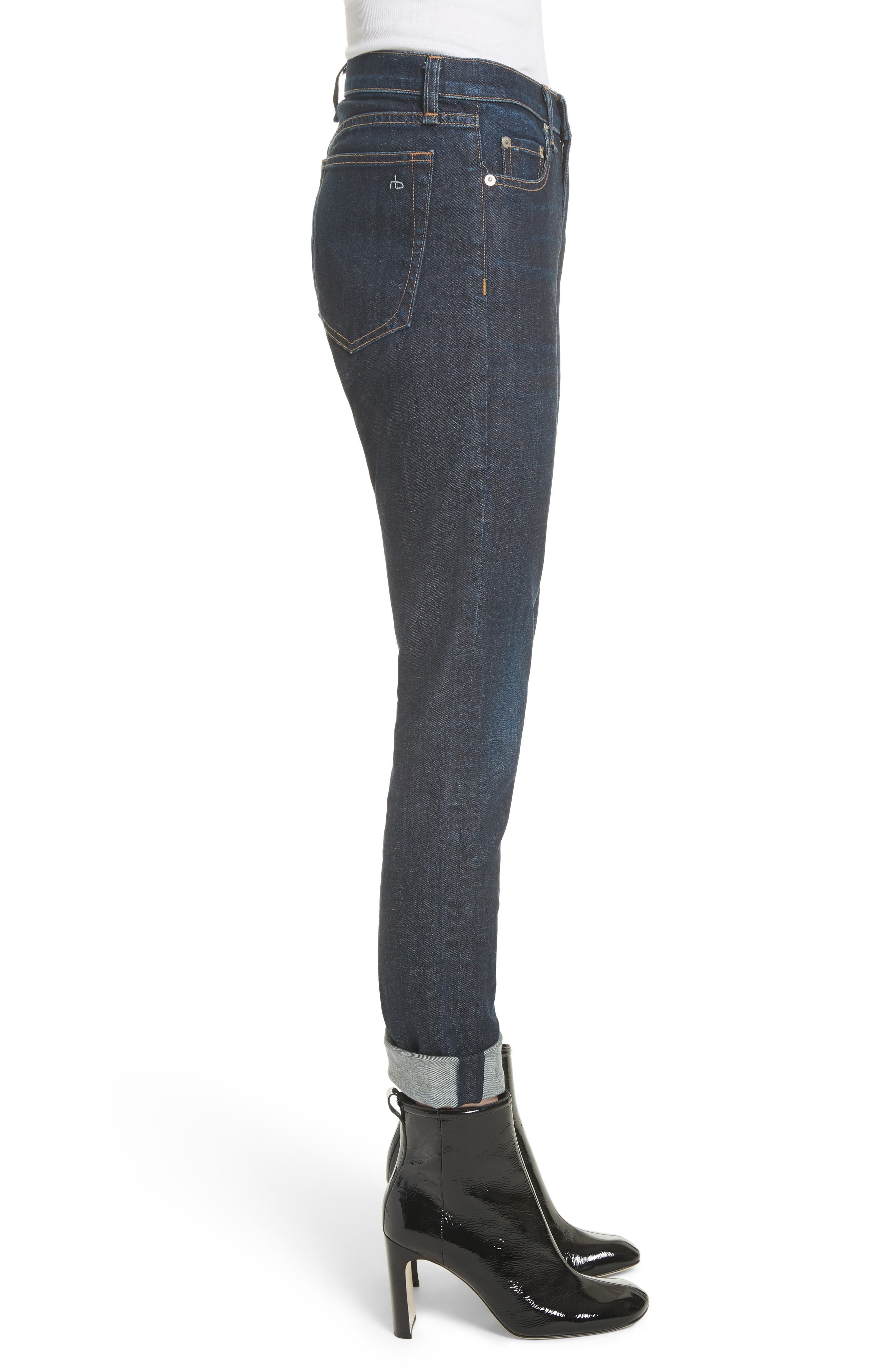 The Dre Slim Boyfriend Jeans,                             Alternate thumbnail 3, color,                             425