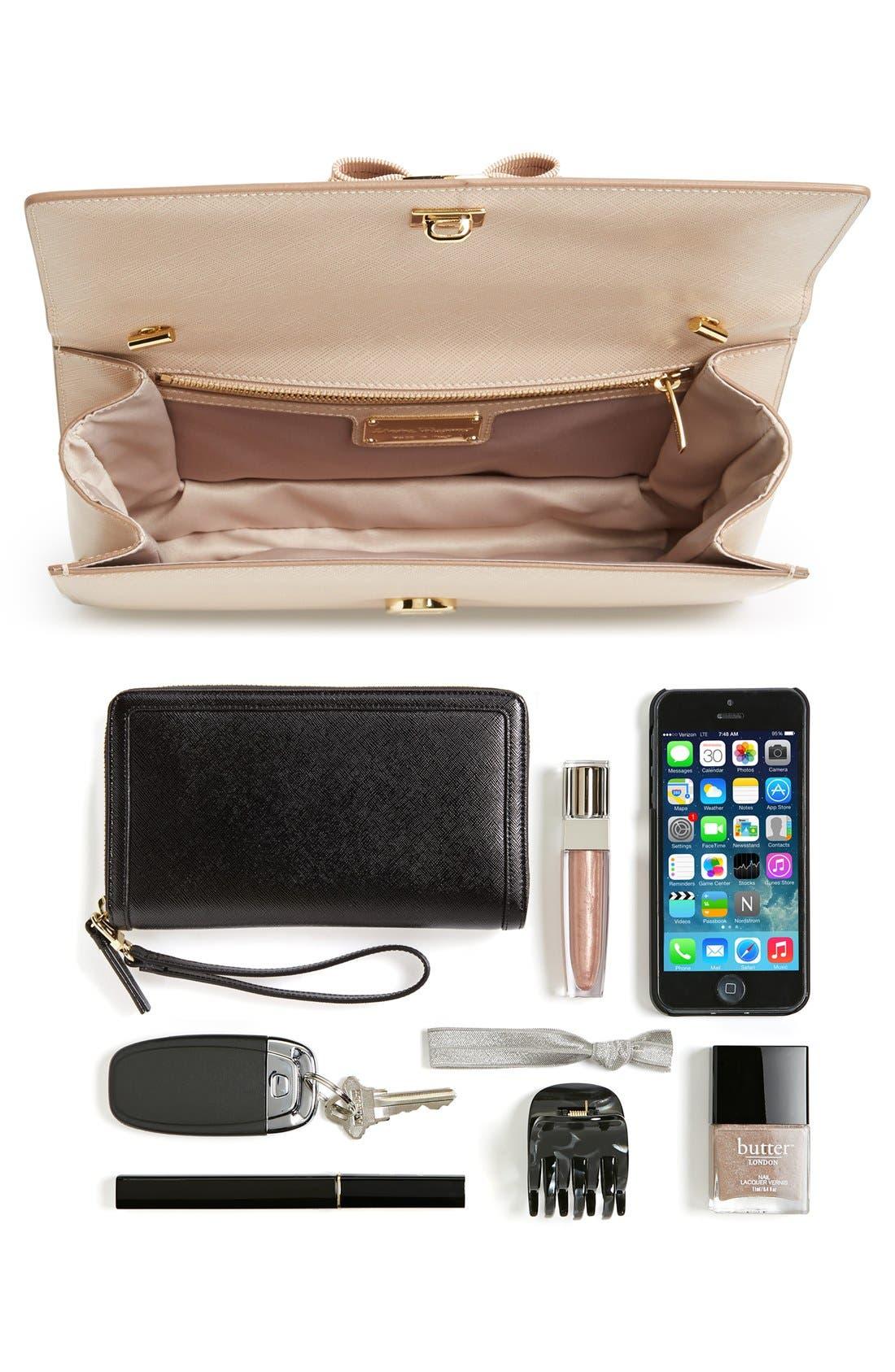 Saffiano Leather Shoulder Bag,                             Alternate thumbnail 2, color,                             250