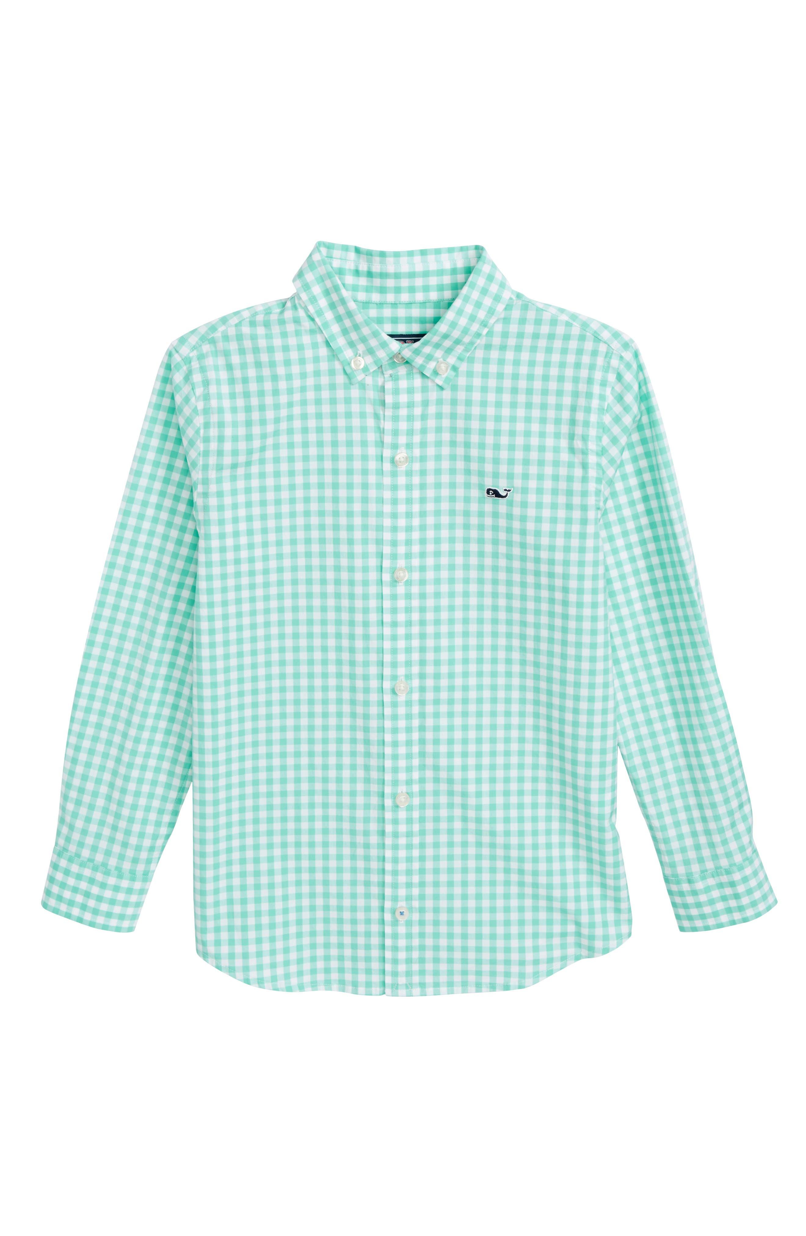 Carleton Gingham Shirt,                             Main thumbnail 1, color,