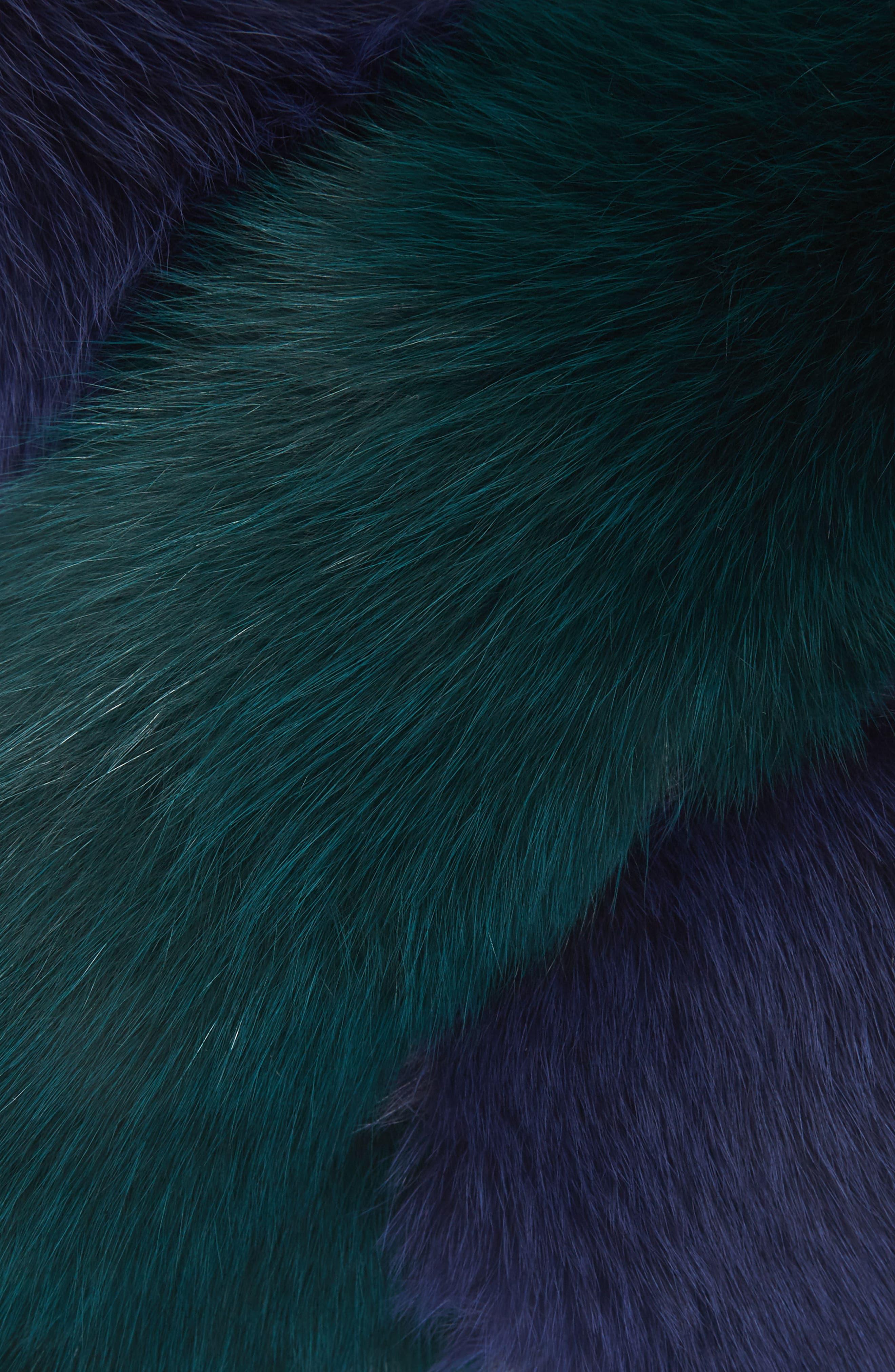 Polly Pop Genuine Fox Fur Scarf,                             Alternate thumbnail 2, color,                             440