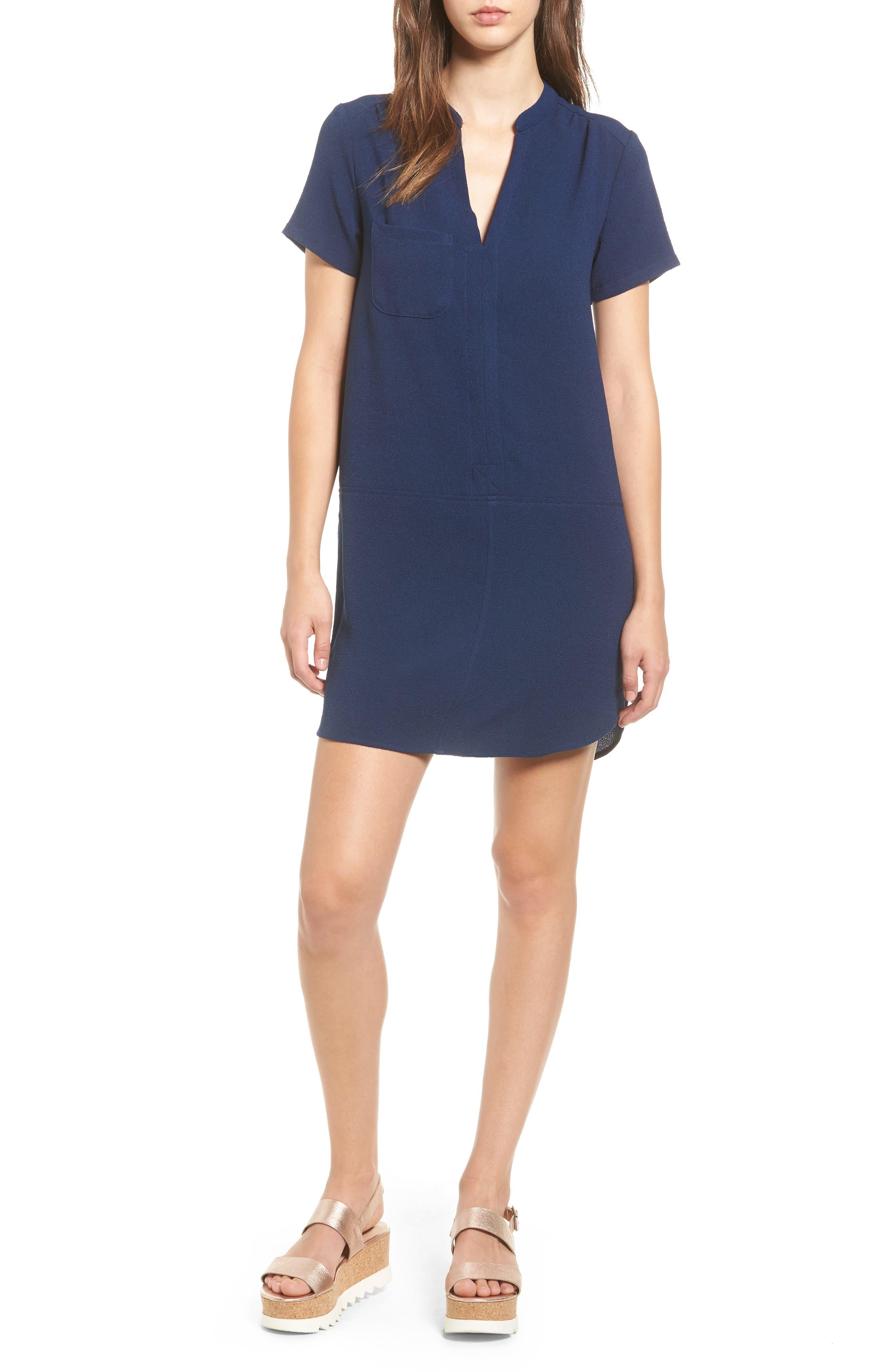 Hailey Crepe Dress,                             Main thumbnail 28, color,
