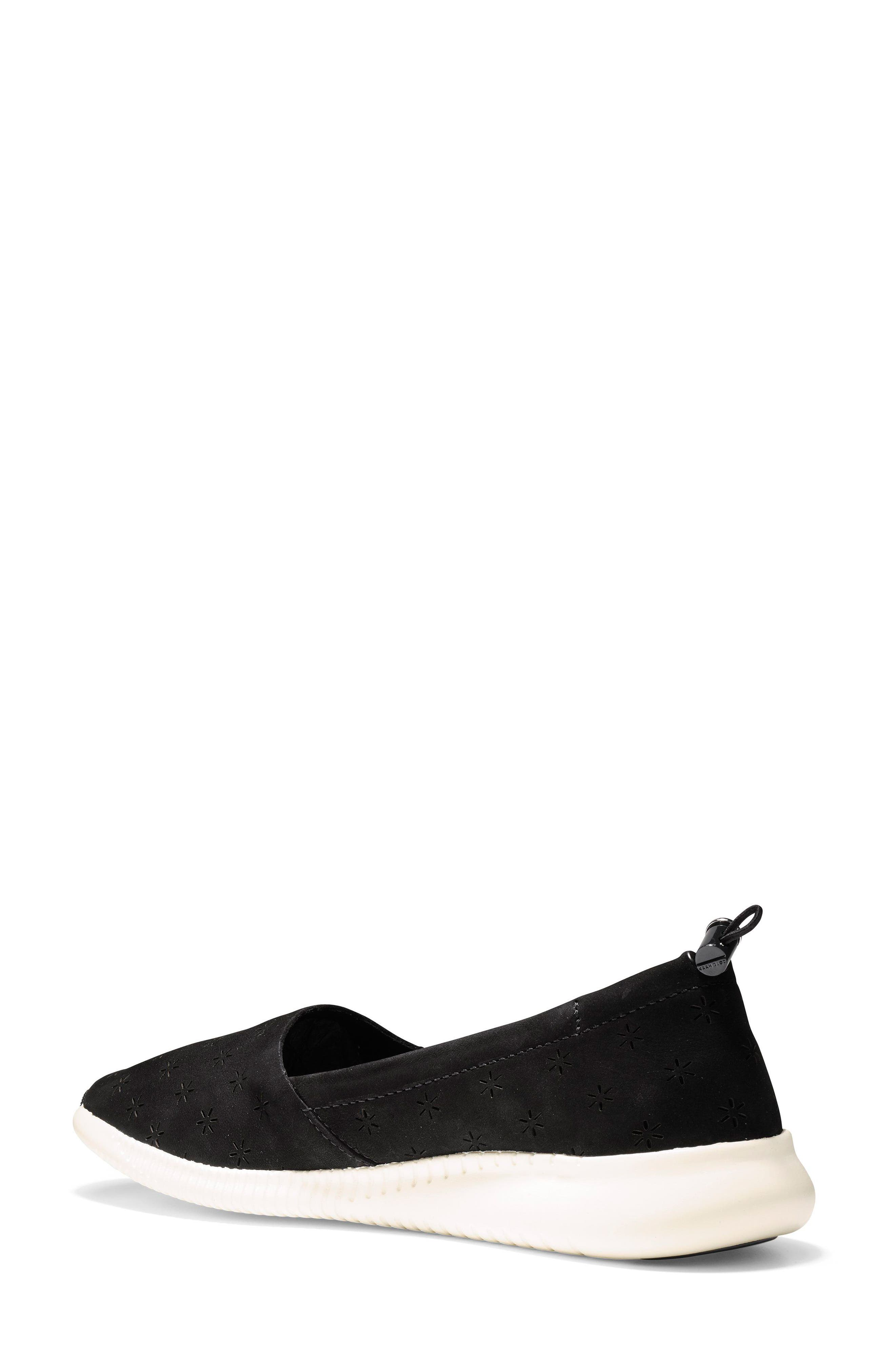 Studiogrand Perforated Slip-on,                             Alternate thumbnail 2, color,                             001