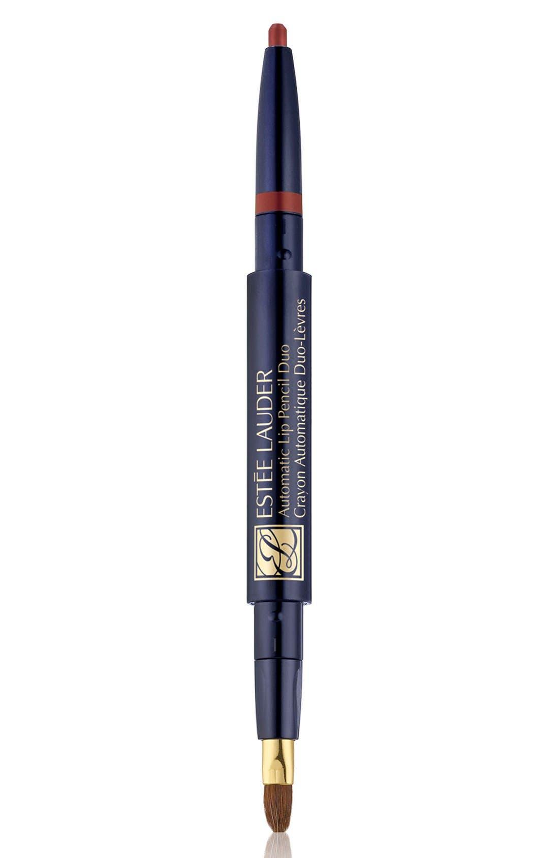 Estee Lauder Automatic Lip Pencil Duo - Terra