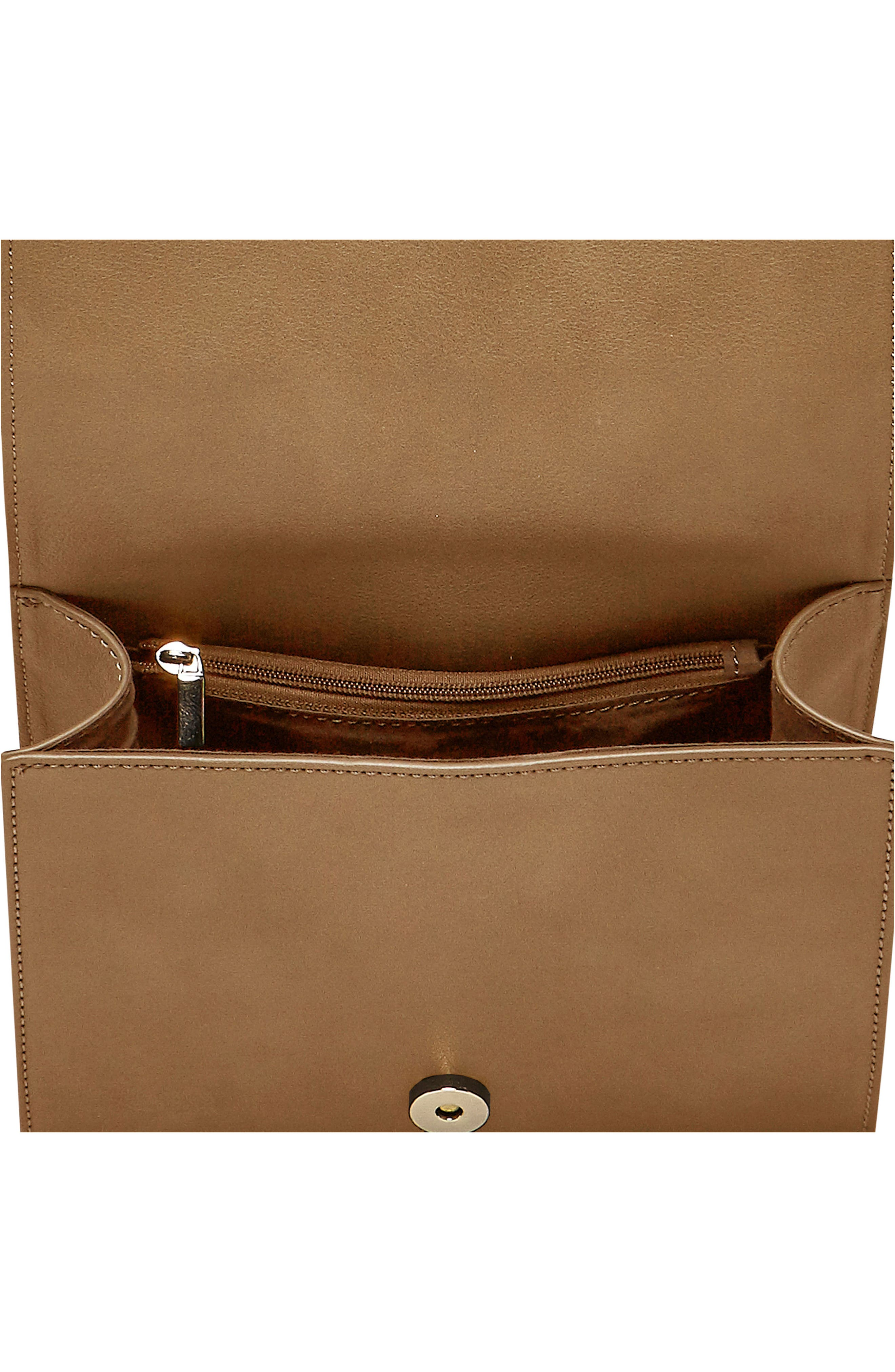 Shining Star Vegan Leather Crossbody Bag,                             Alternate thumbnail 11, color,