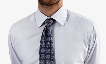 Play video about how to tie a half-Windsor knot.