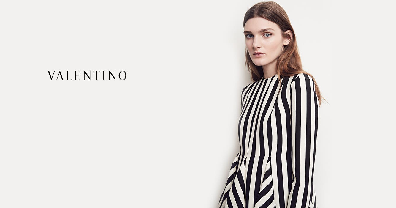 Valentino women's clothing.