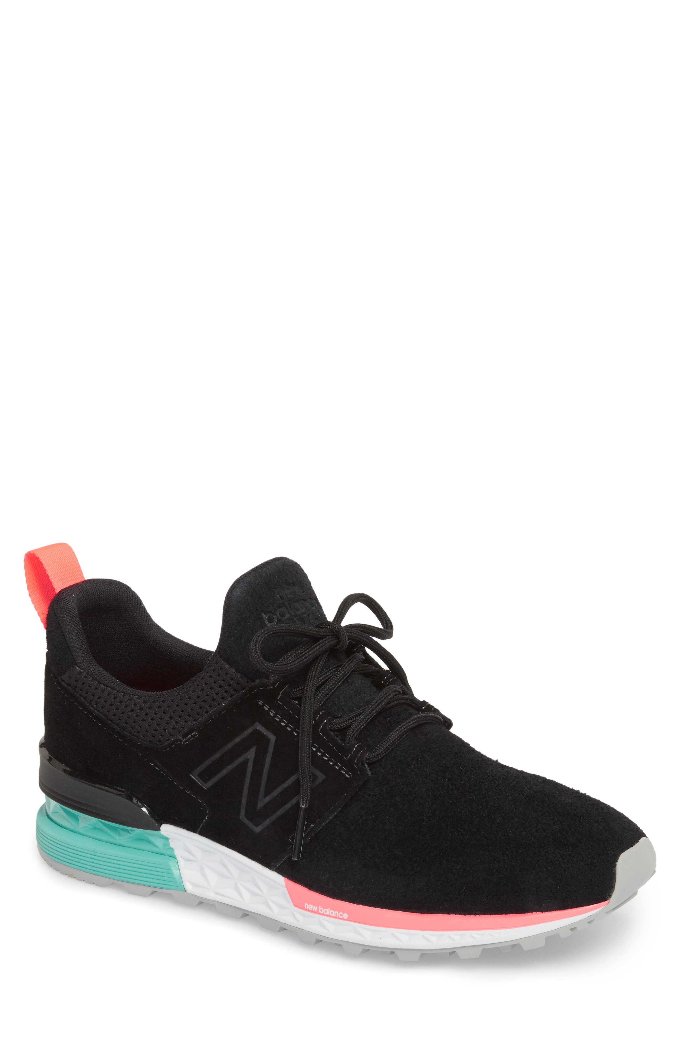 574 Sport Sneaker,                         Main,                         color, 001