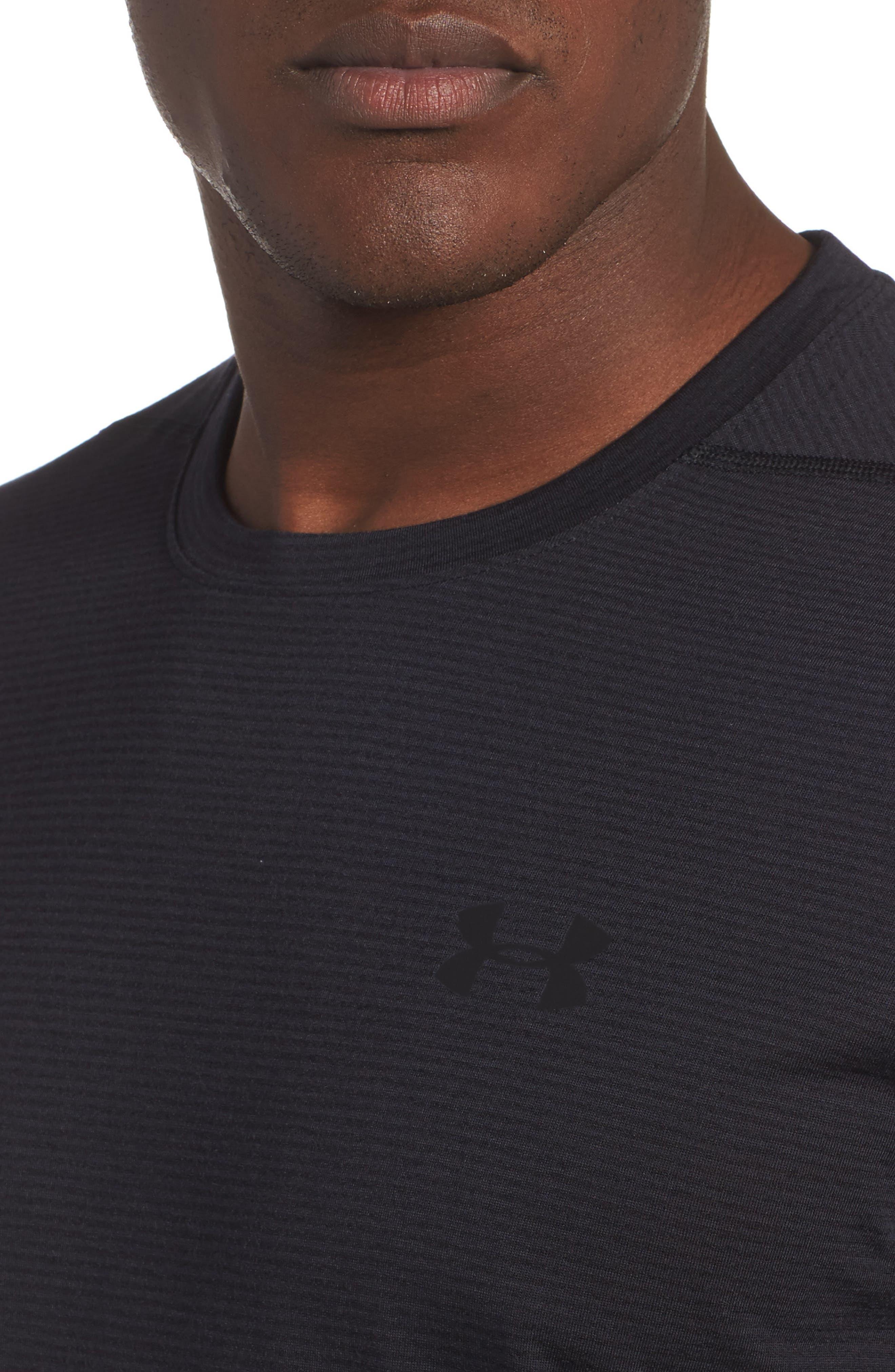 Threadborne Siro Regular Fit T-Shirt,                             Alternate thumbnail 4, color,                             001