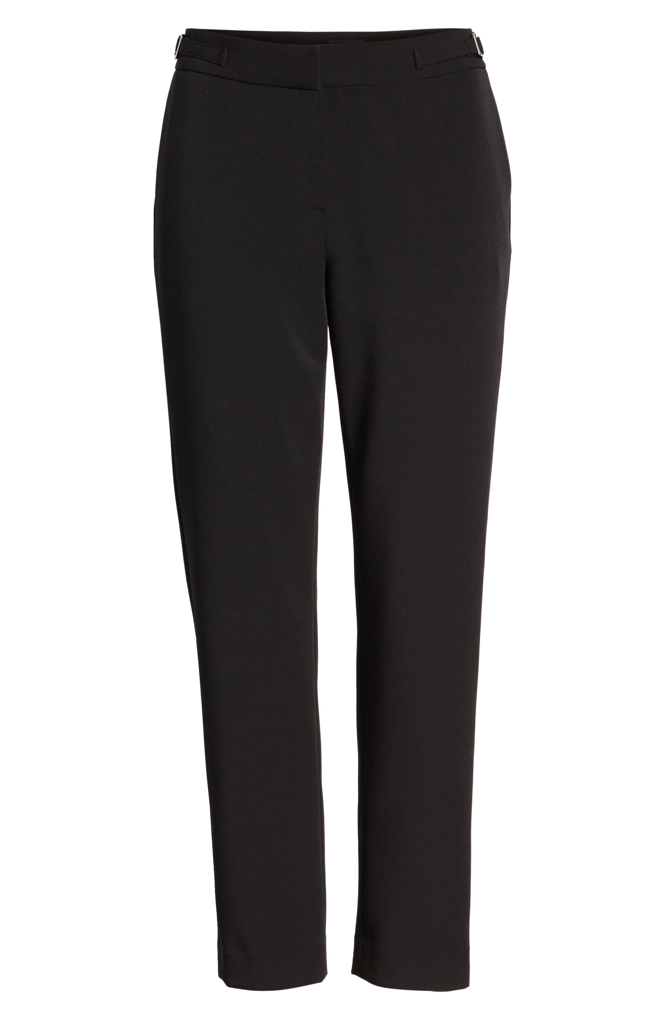 Slim Pants,                             Alternate thumbnail 6, color,                             BLACK TECH