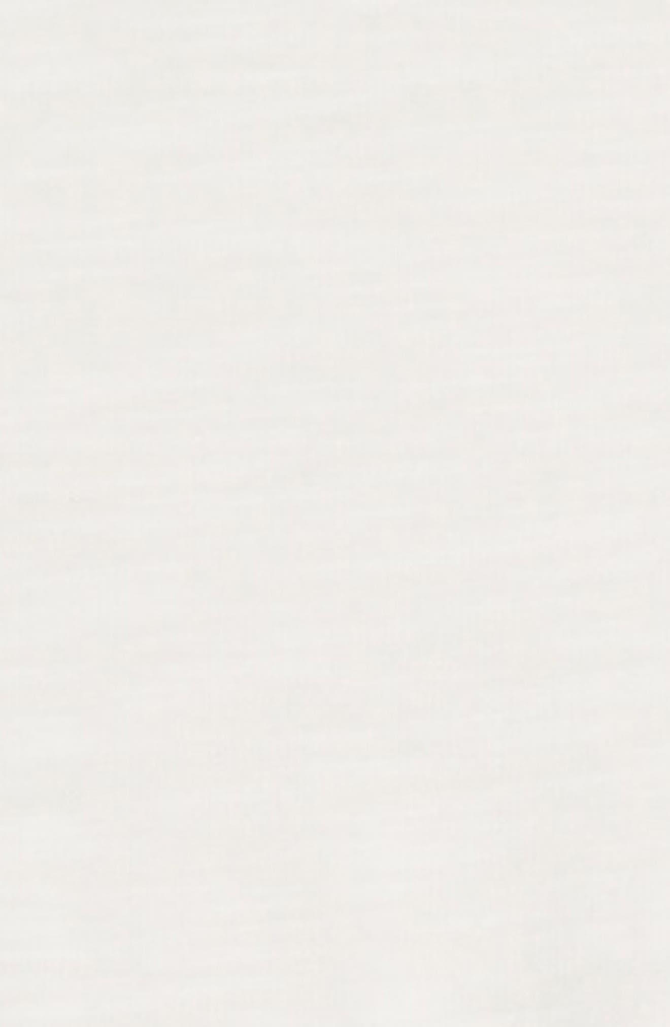 Roller Stripe Tee & Leggings Set,                             Alternate thumbnail 2, color,                             OFF WHITE