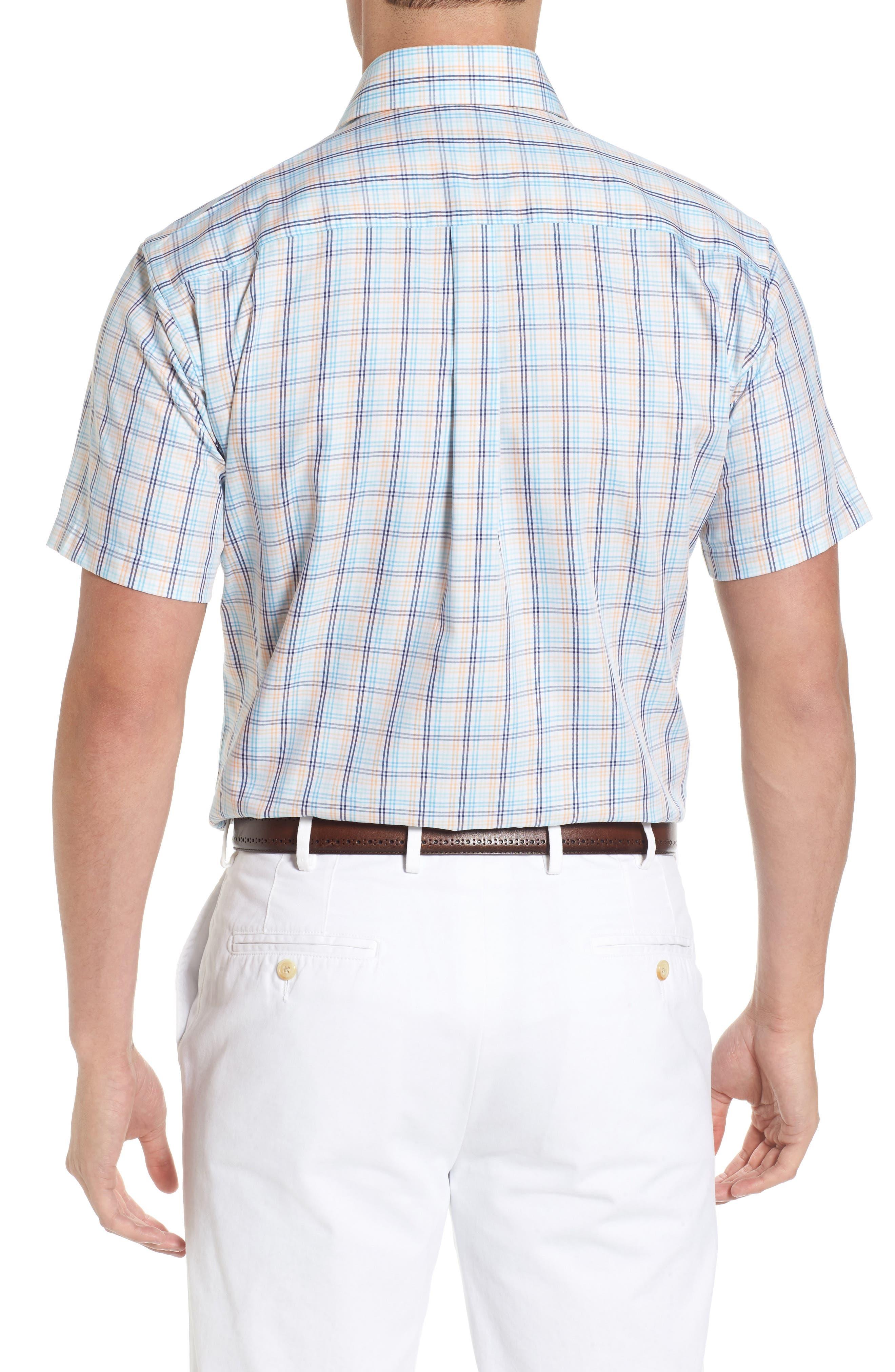 Crown Soft Daybreak Regular Fit Check Sport Shirt,                             Alternate thumbnail 2, color,