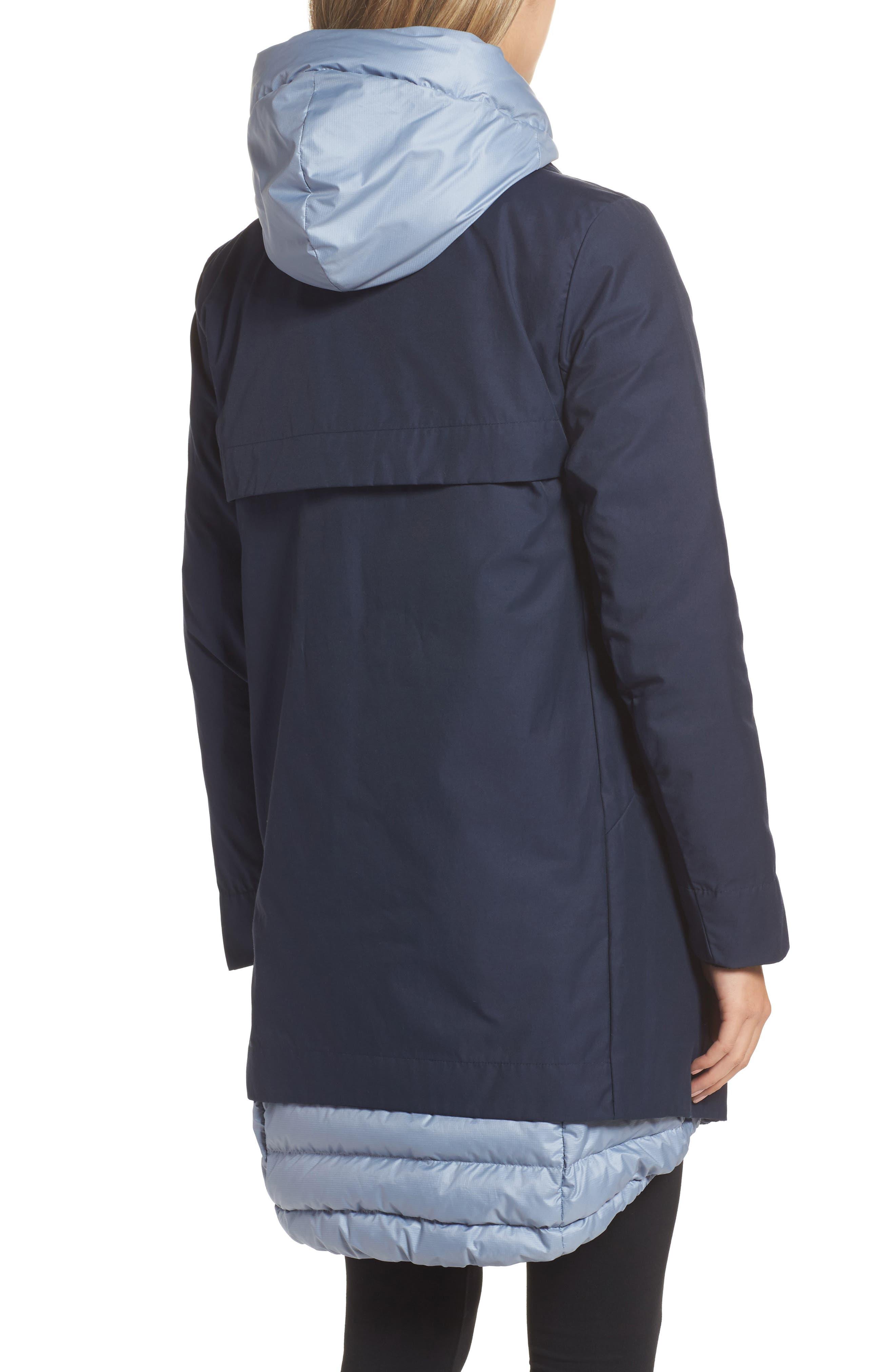 Sportswear Women's AeroLoft 3-in-1 Down Fill Parka,                             Alternate thumbnail 4, color,                             OBSIDIAN/ GLACIER GREY/ BLACK