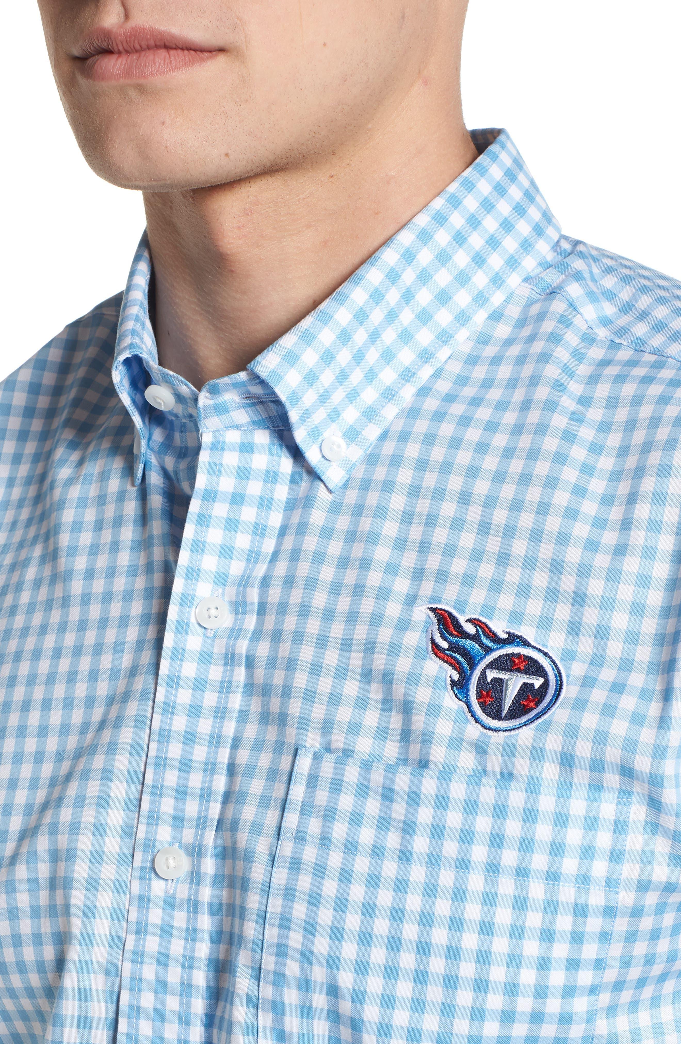 Tennessee Titans - League Regular Fit Sport Shirt,                             Alternate thumbnail 4, color,                             ATLAS