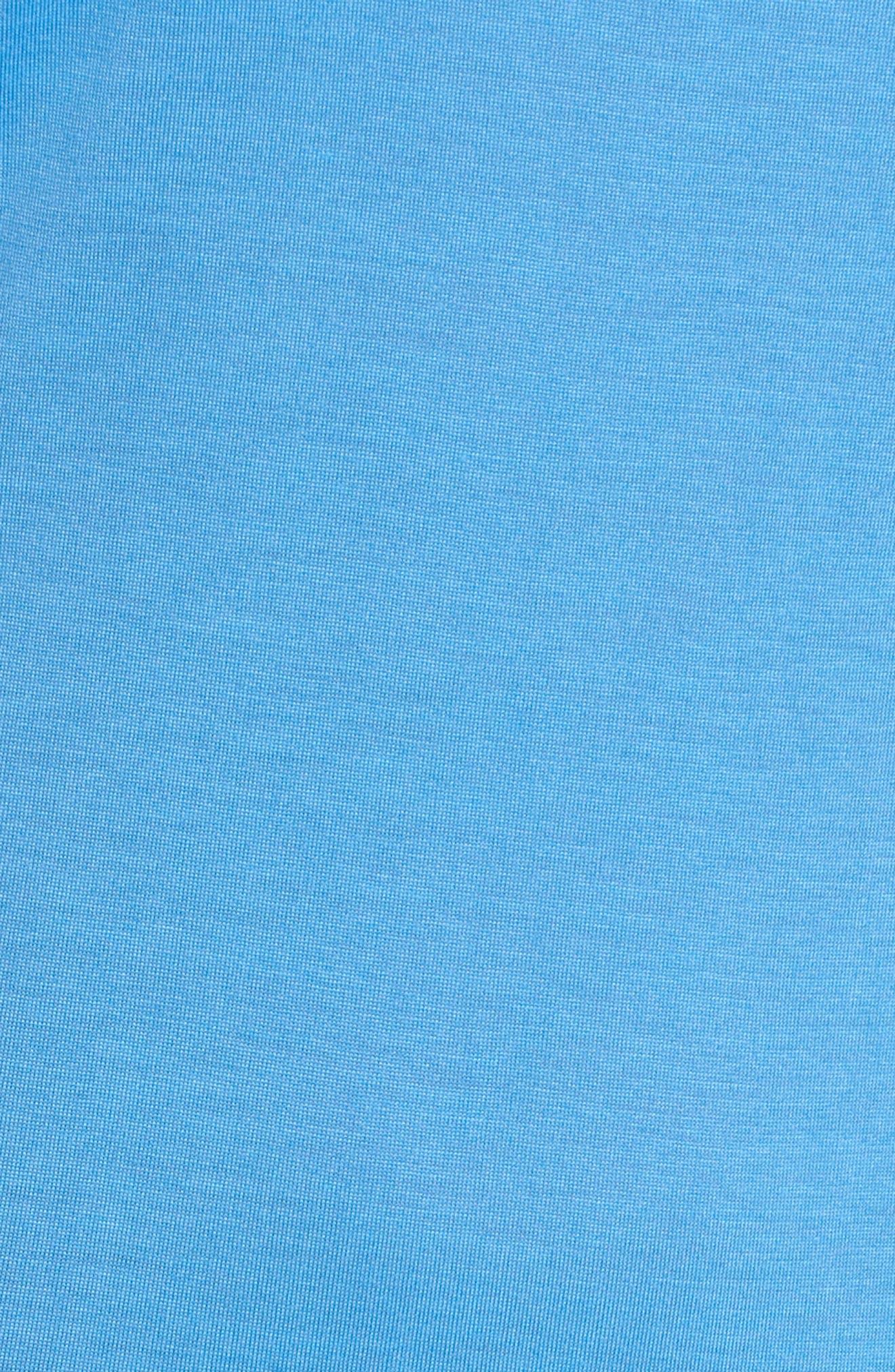 Racerback Cover-Up Tank Dress,                             Alternate thumbnail 5, color,                             BLUE LAPIS