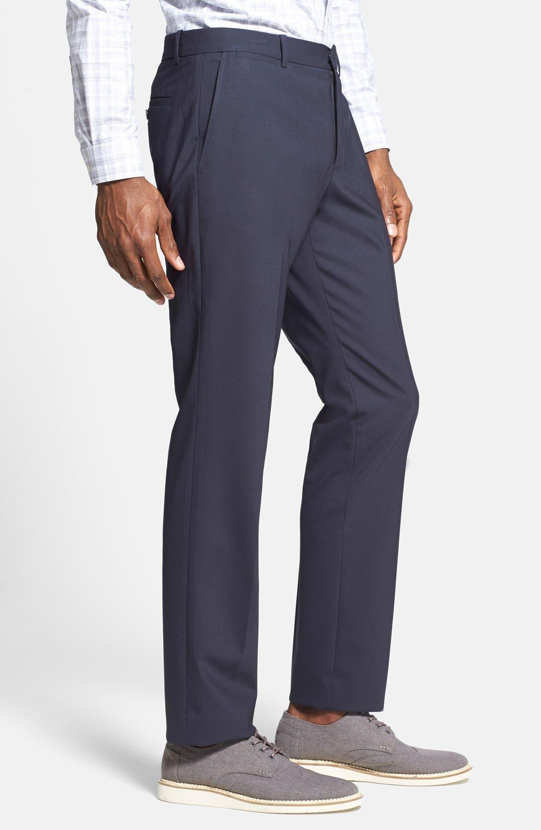 'Marlo New Tailor' Slim Fit Pants,                             Alternate thumbnail 21, color,