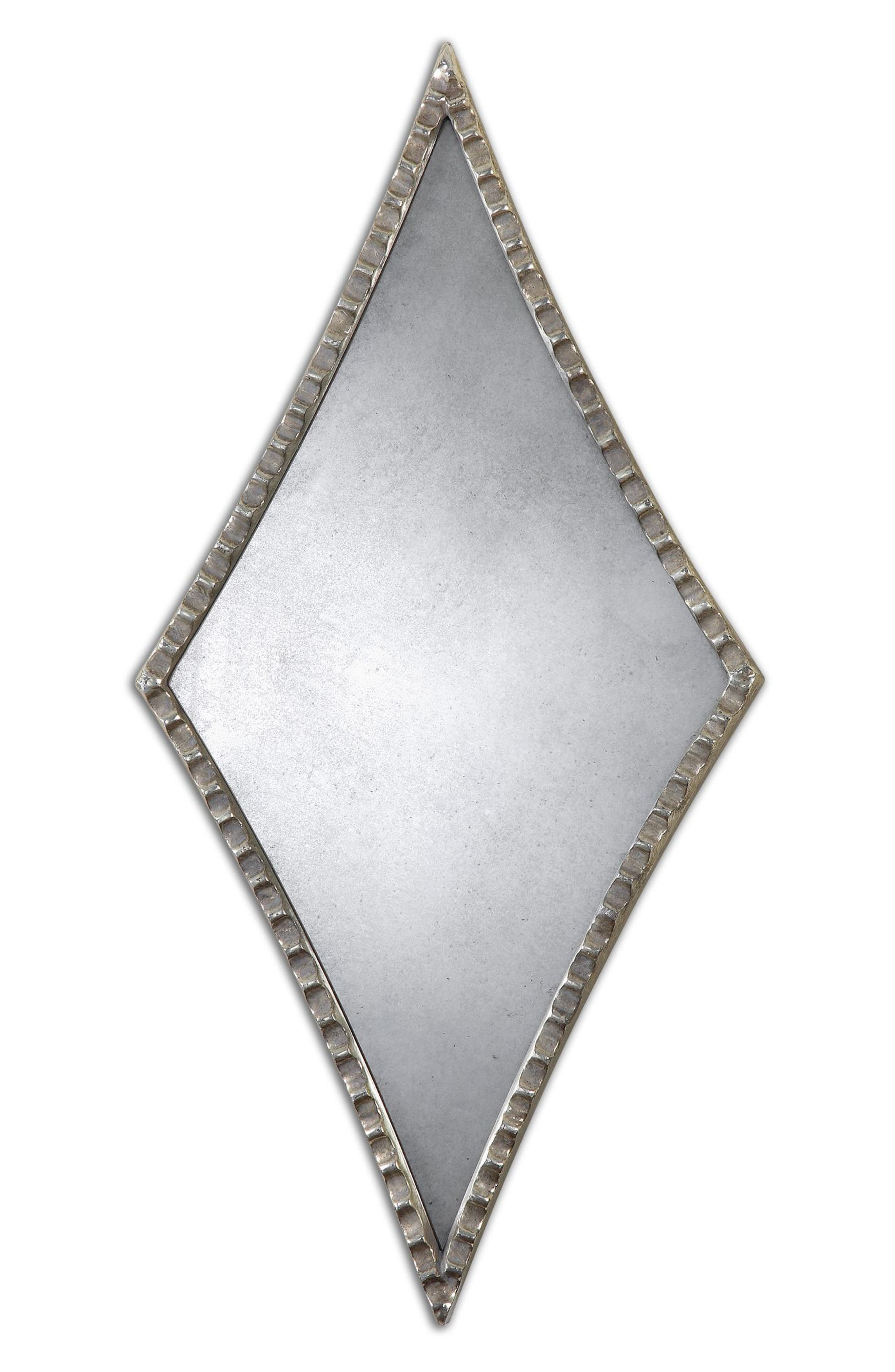 Gelston Set of 2 Diamond Wall Mirrors,                         Main,                         color, 040