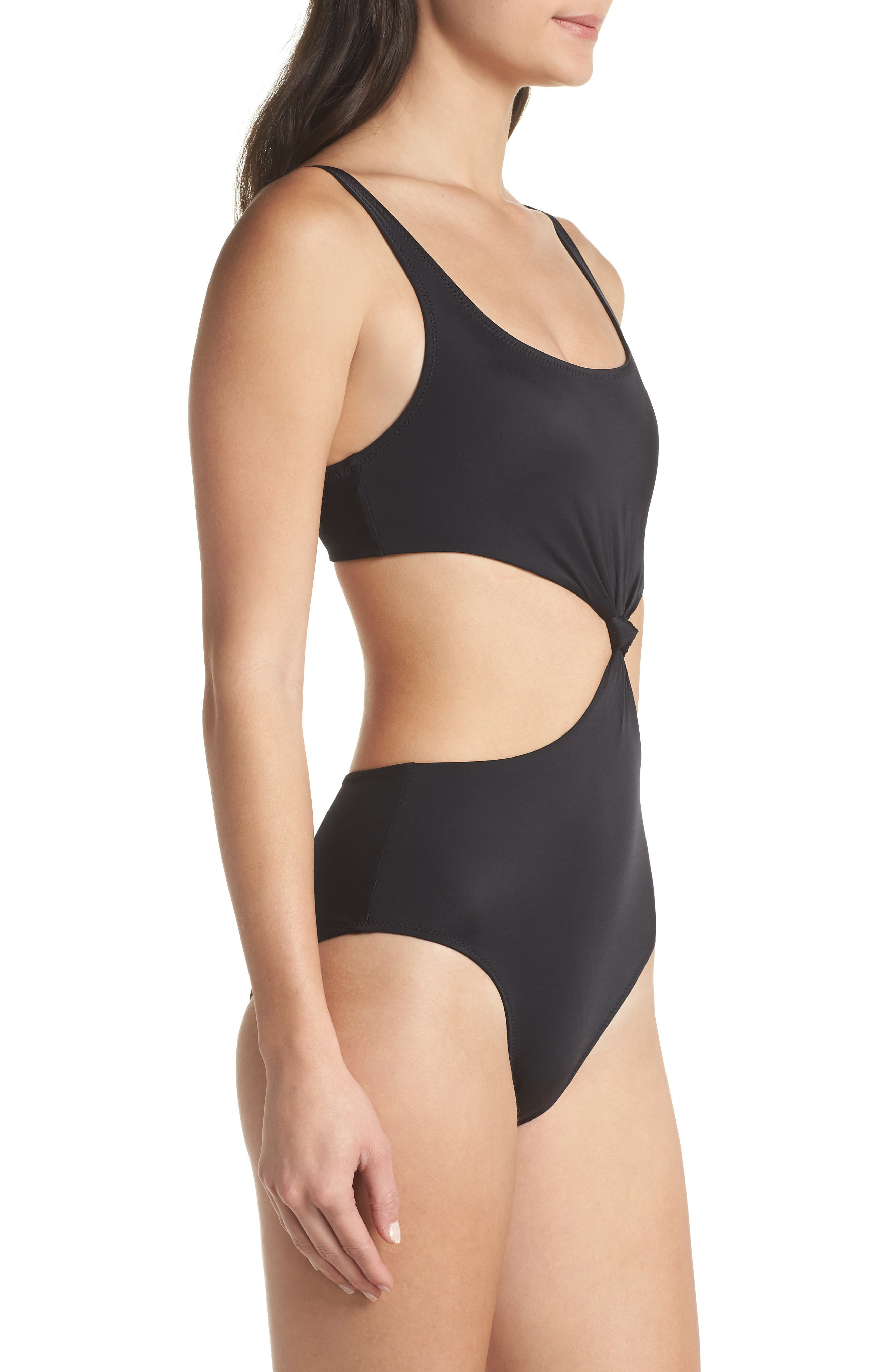 The Bailey One-Piece Swimsuit,                             Alternate thumbnail 3, color,                             001