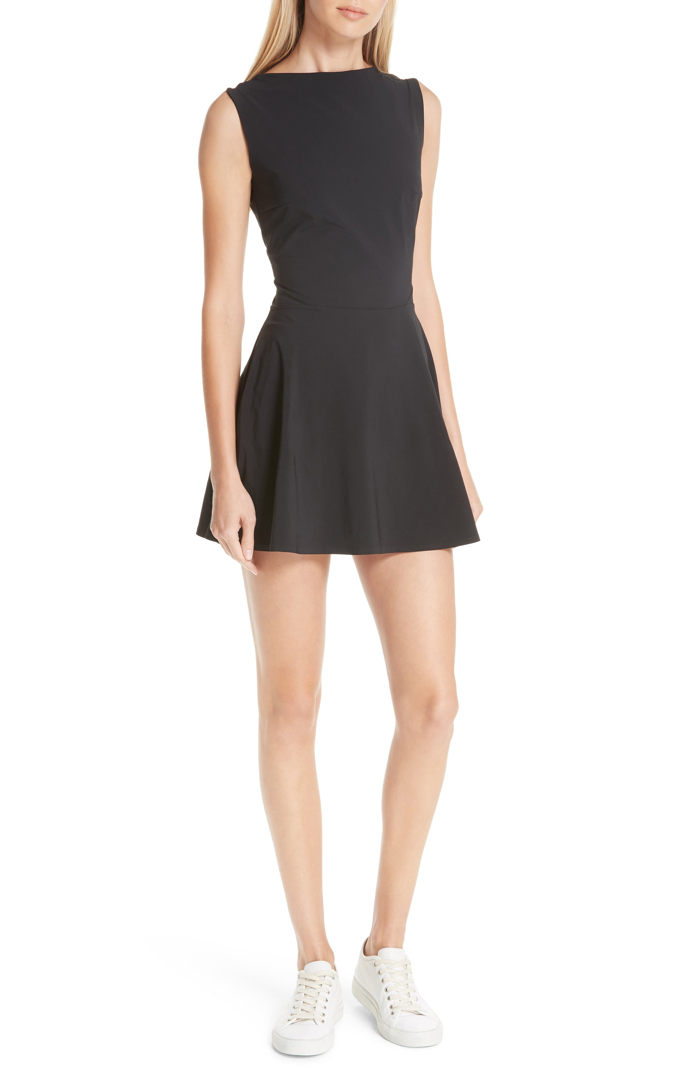 Grand Slam Dress,                             Main thumbnail 1, color,                             BLACK