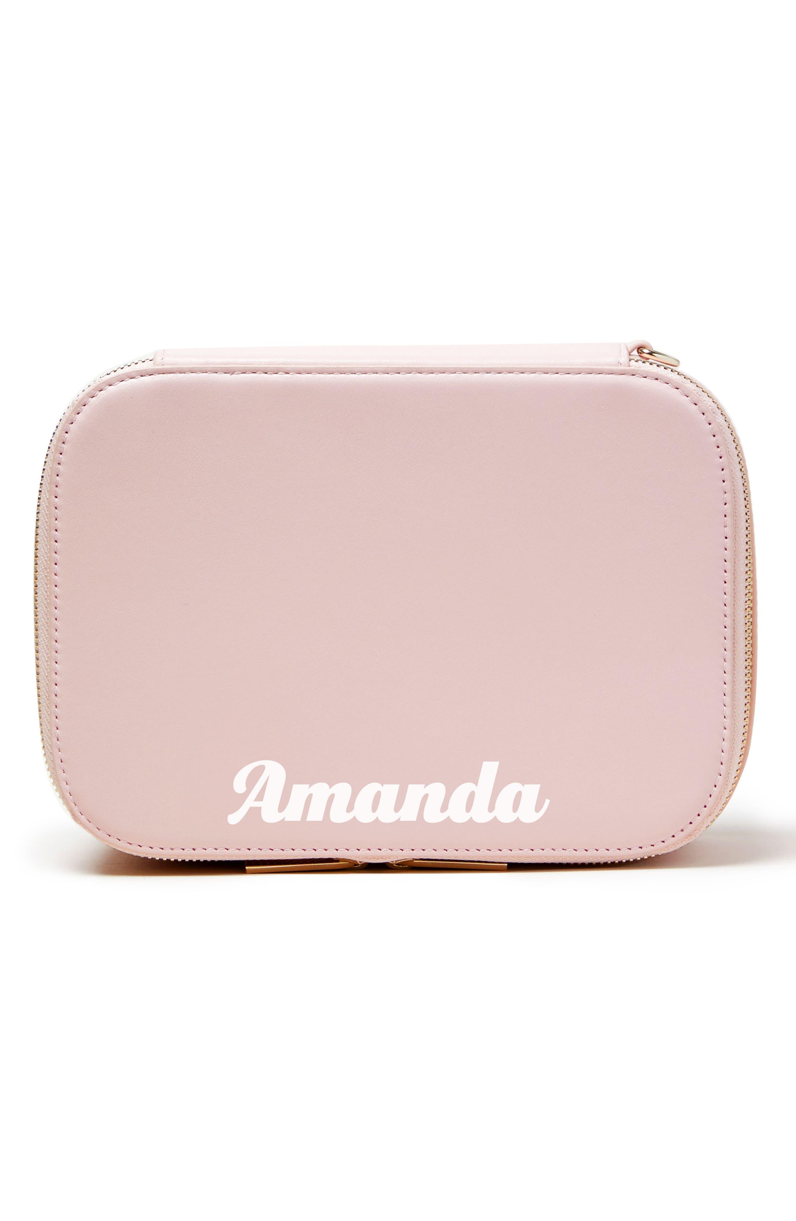 Bigger Personalized Makeup Bag,                             Alternate thumbnail 7, color,