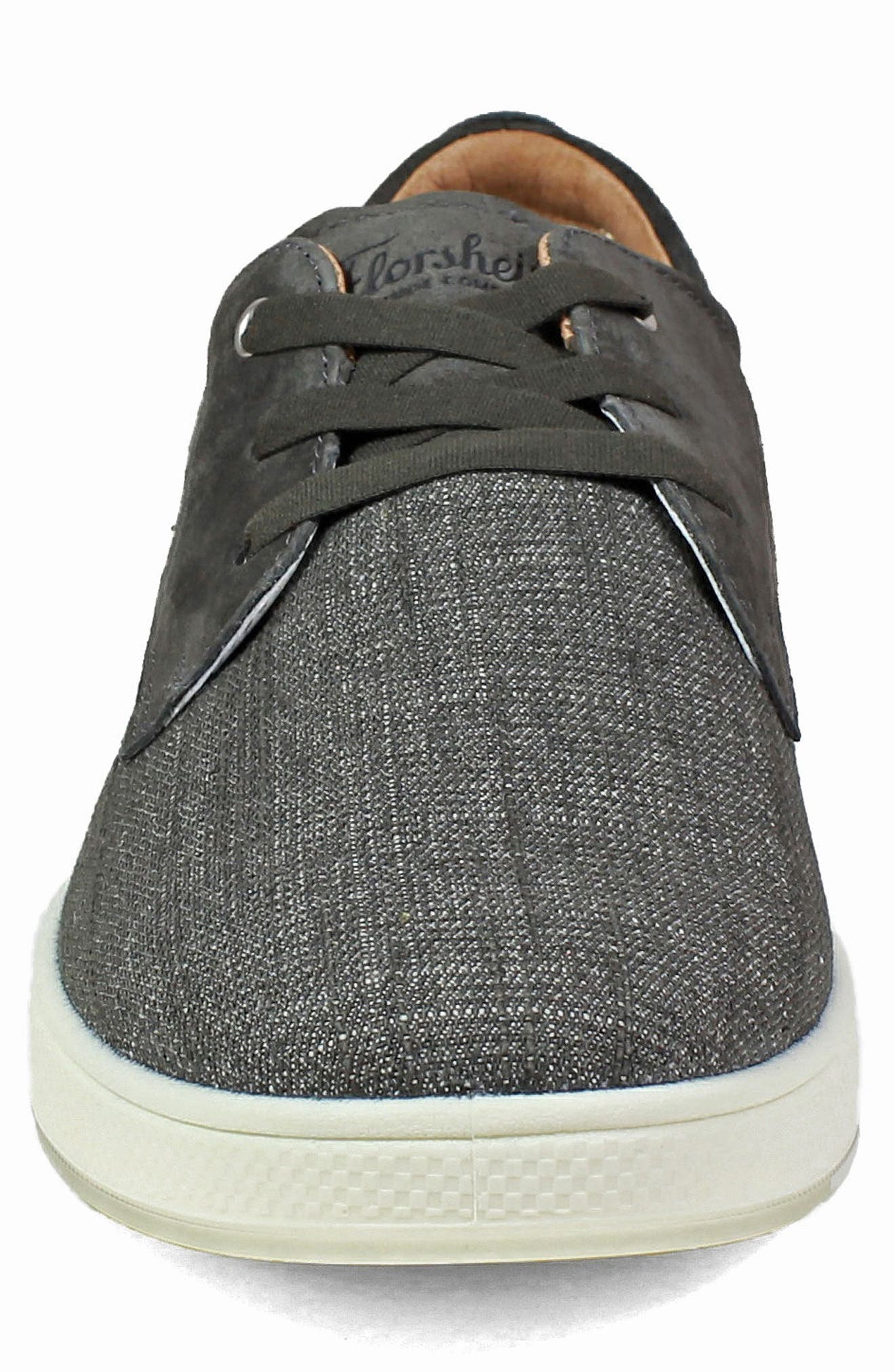 Edge 3 Eye Sneaker,                             Alternate thumbnail 4, color,                             CHARCOAL NUBUCK