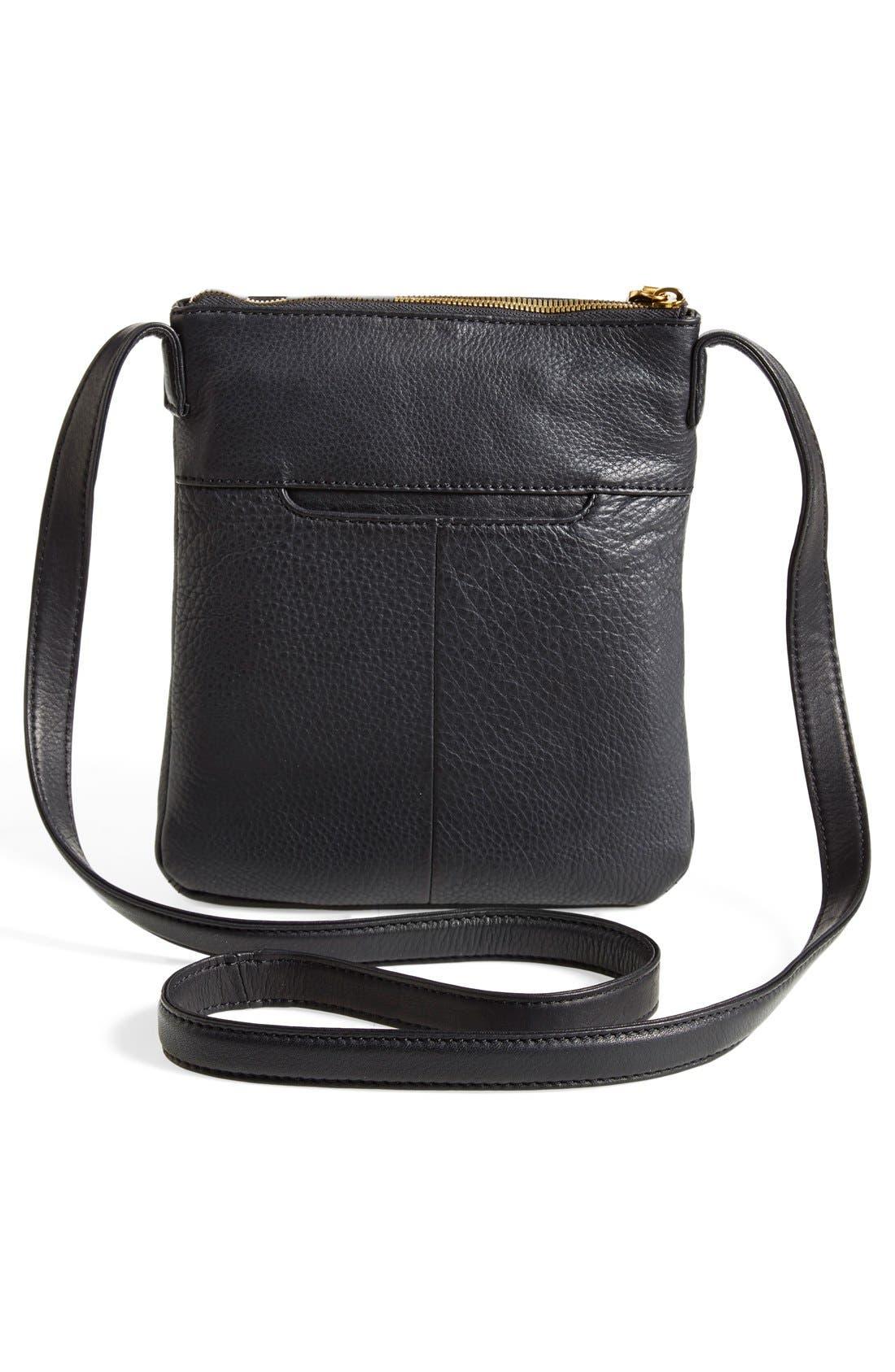 'Sarah' Leather Crossbody Bag,                             Alternate thumbnail 23, color,