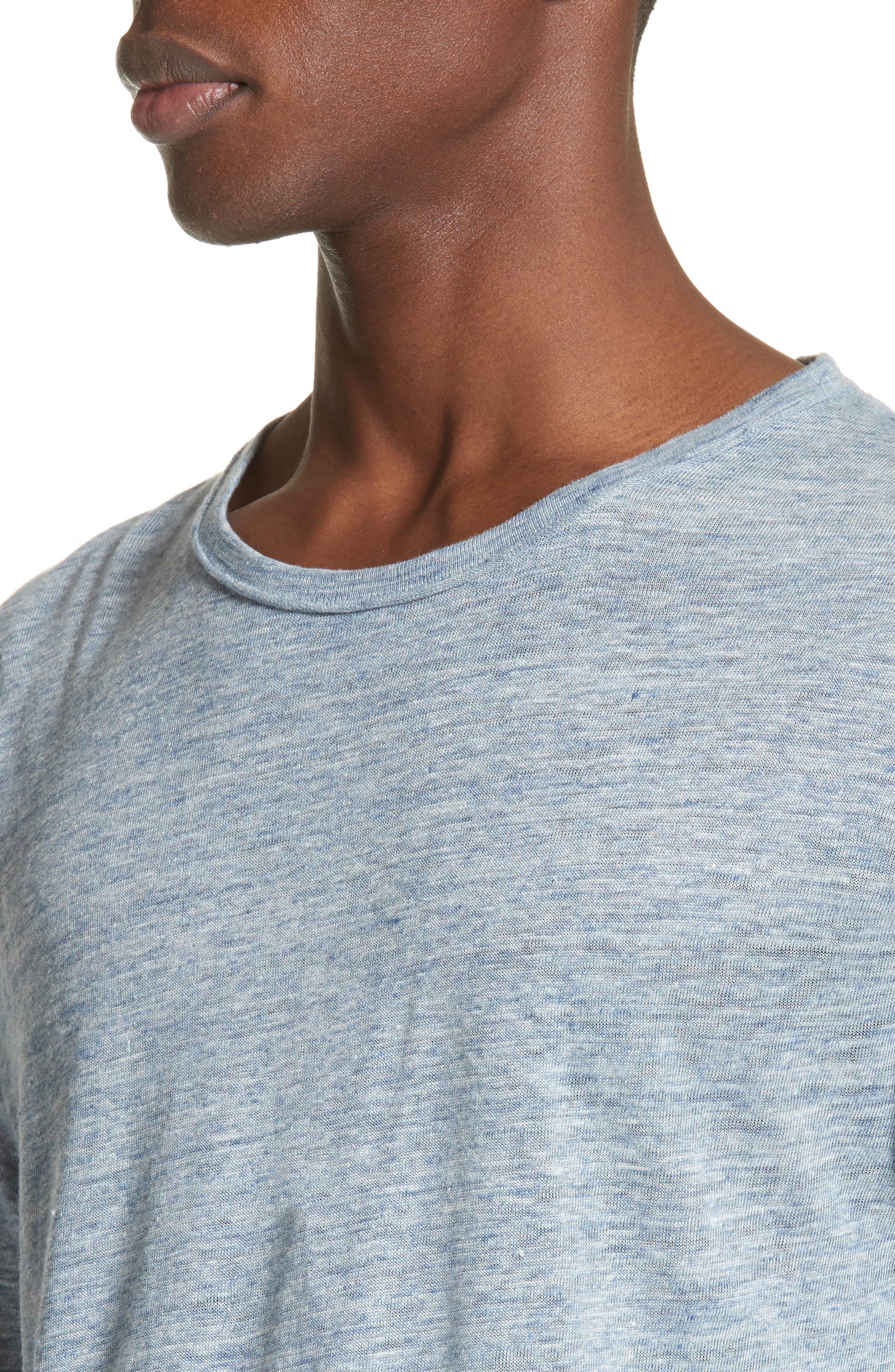 Owen Linen Long Sleeve T-Shirt,                             Alternate thumbnail 12, color,
