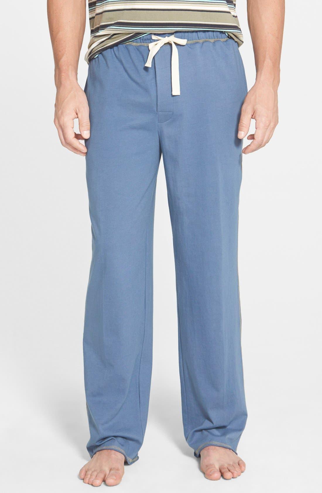 'Greenhouse' Cotton Lounge Pants,                             Main thumbnail 2, color,