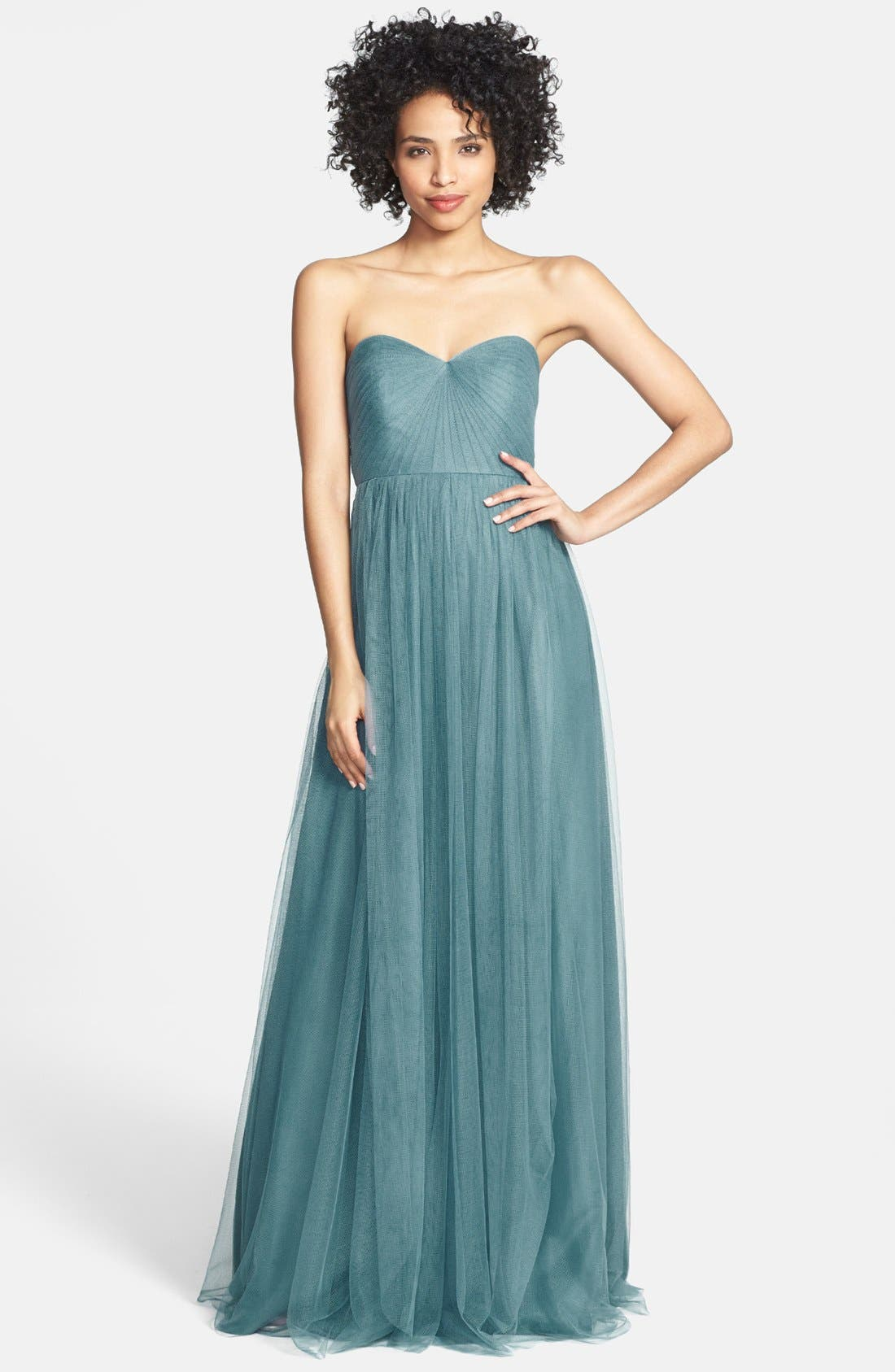 Annabelle Convertible Tulle Column Dress,                             Main thumbnail 20, color,