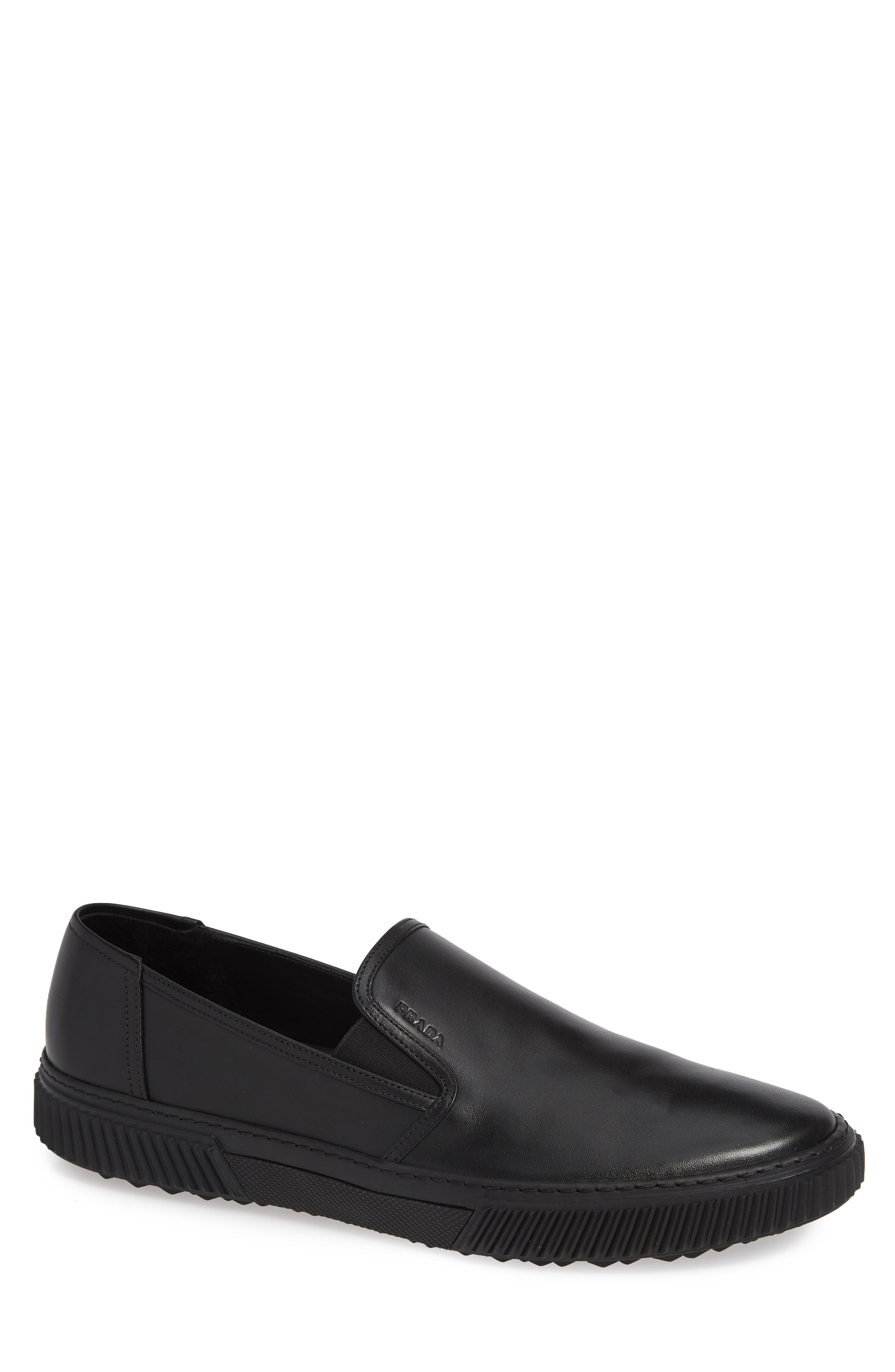 Stratus Slip-On Sneaker,                             Main thumbnail 1, color,                             NERO/ NERO