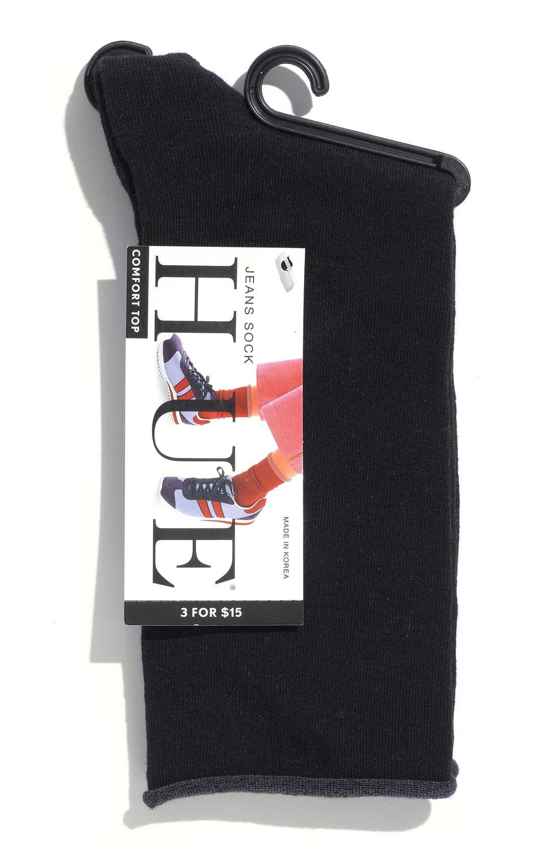 'Jeans' Socks,                             Alternate thumbnail 2, color,                             001