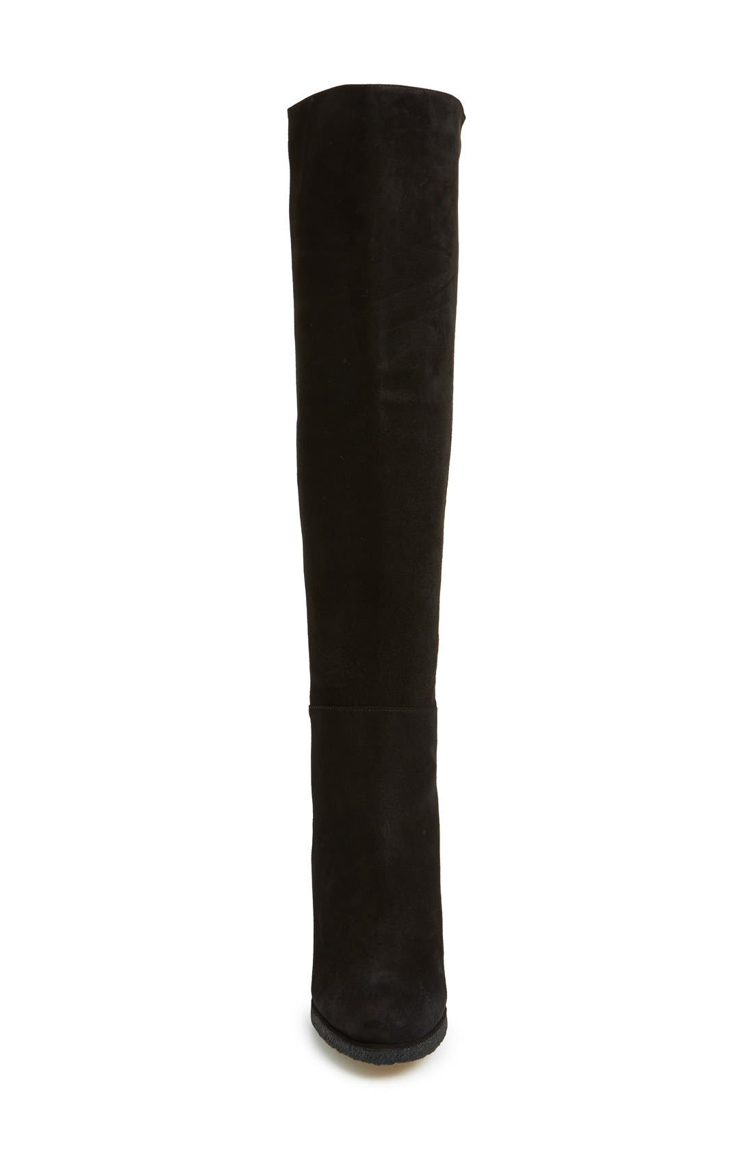 'Demiswoon' Over the Knee Boot,                             Alternate thumbnail 2, color,                             001