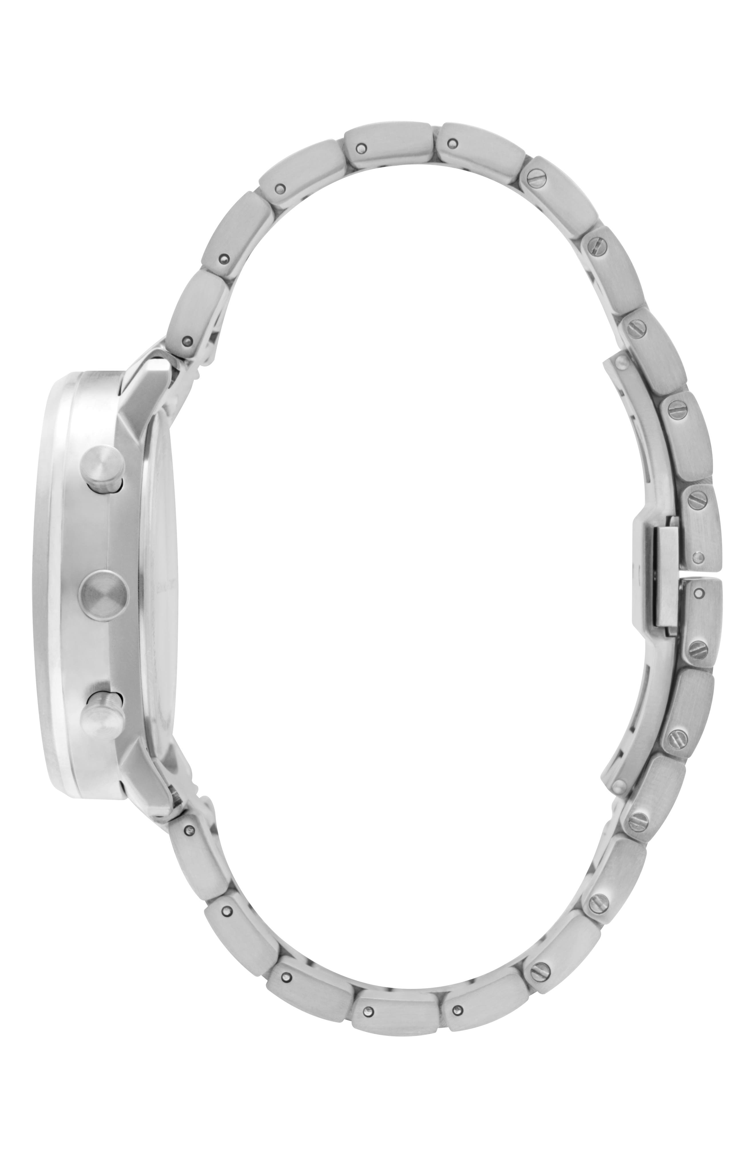 Leonard & Church Bleeker Chronograph Bracelet Watch, 40mm,                             Alternate thumbnail 8, color,