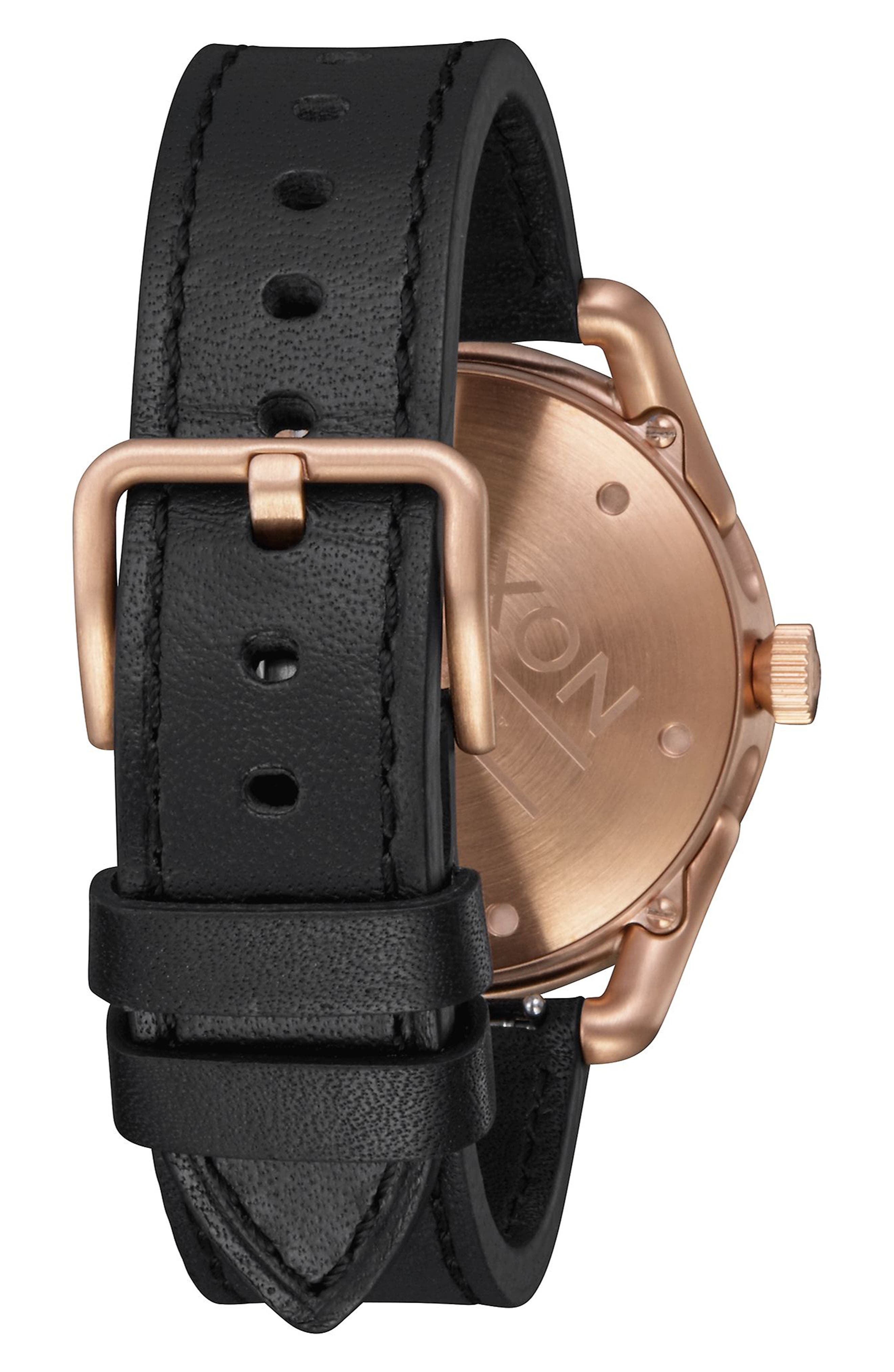 C39 Leather Strap Watch, 39mm,                             Alternate thumbnail 2, color,                             001