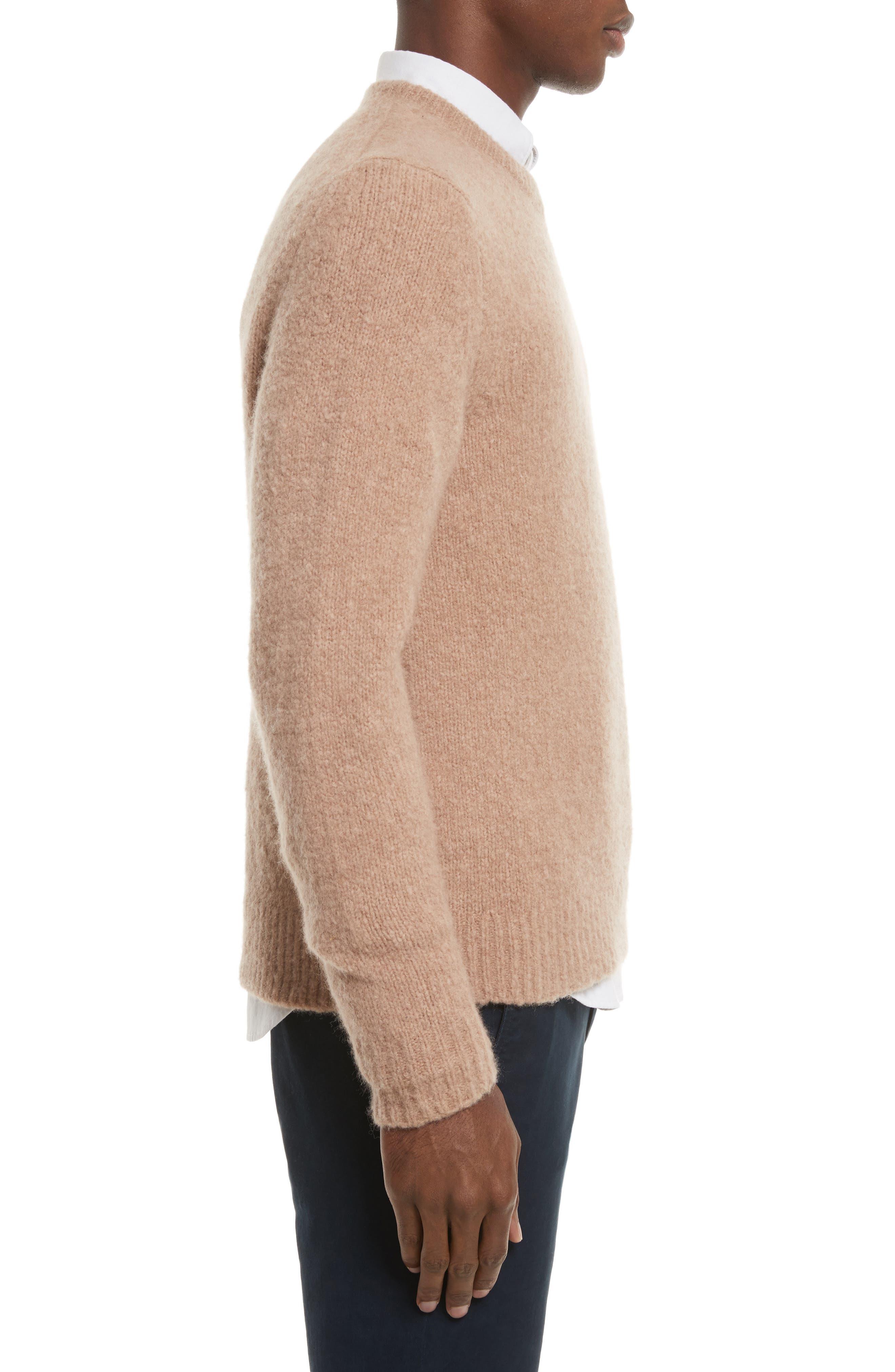 Charles Merino Wool Blend Sweater,                             Alternate thumbnail 3, color,                             230