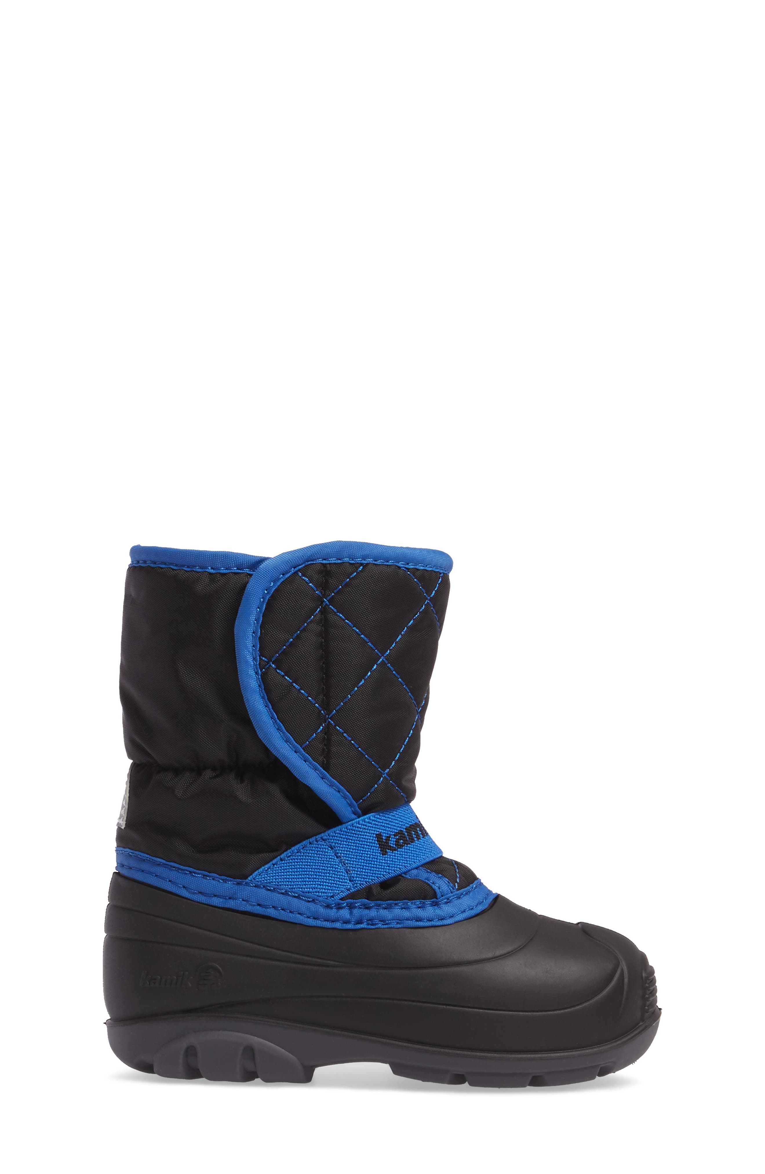 Pika2 Faux Fur Insulated Waterproof Snow Boot,                             Alternate thumbnail 3, color,                             010