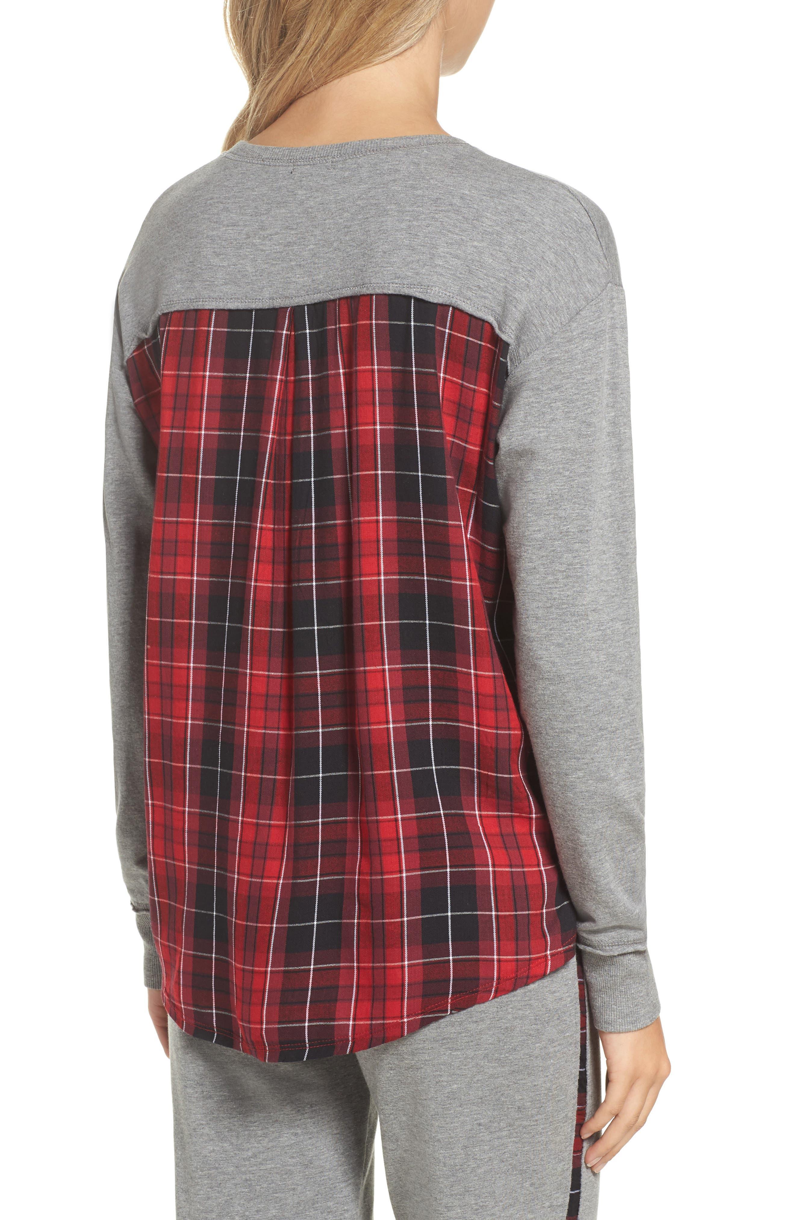 High/Low Sweatshirt,                             Alternate thumbnail 2, color,                             020
