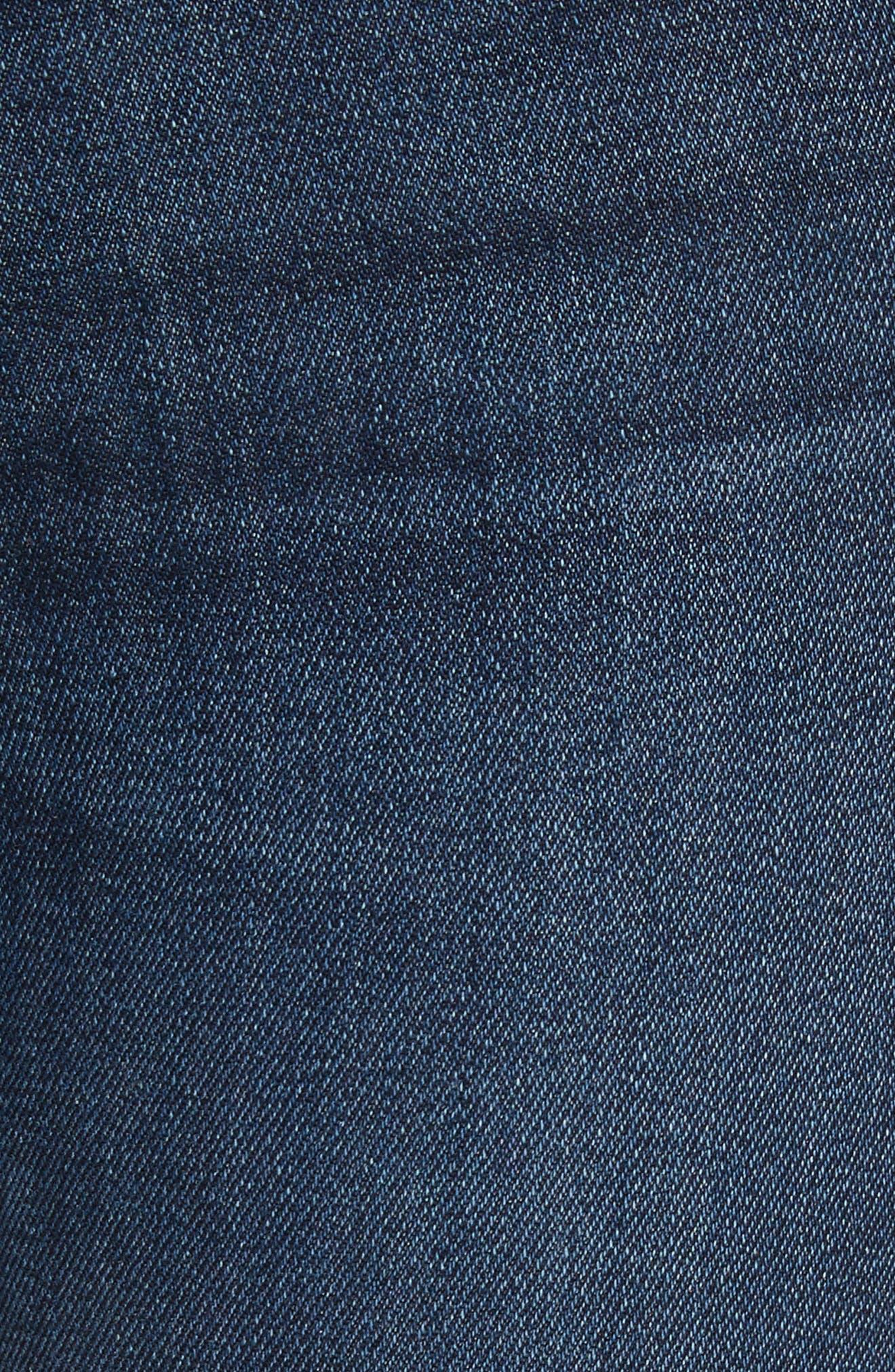 High Waist Skinny Jeans,                             Alternate thumbnail 5, color,                             404