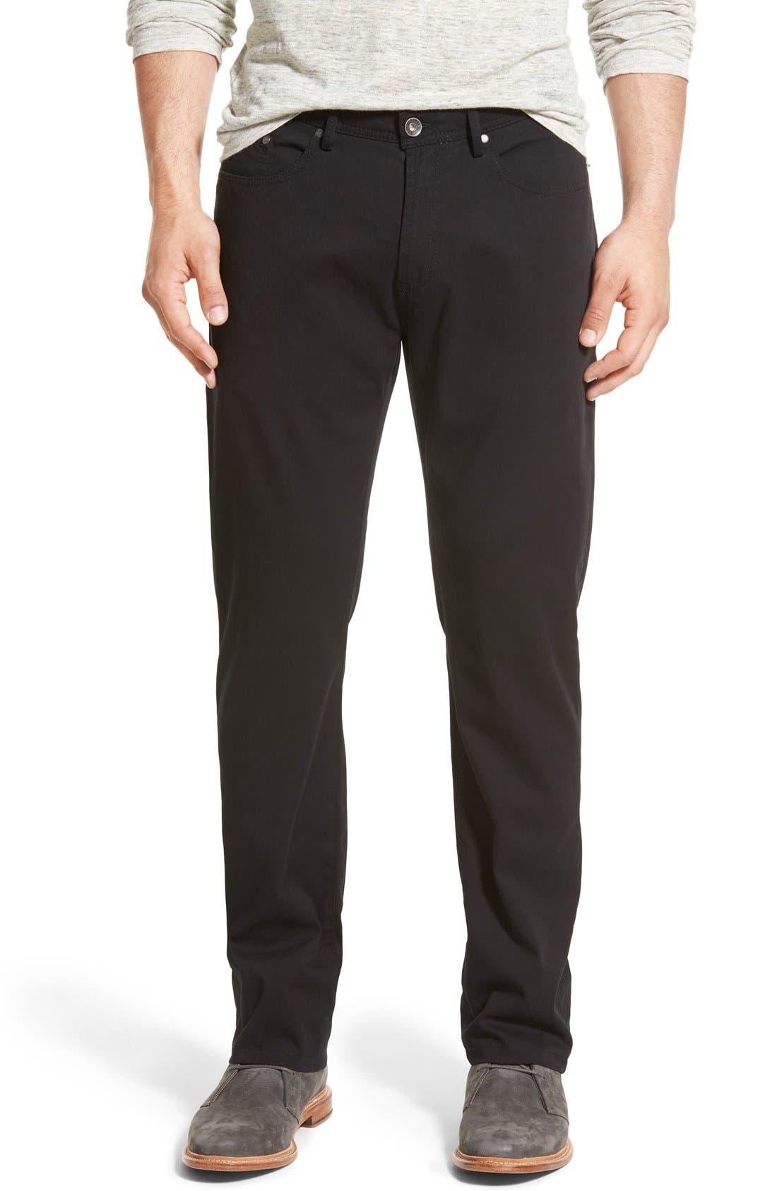Crescent Pima Cotton Pants,                             Main thumbnail 1, color,                             001