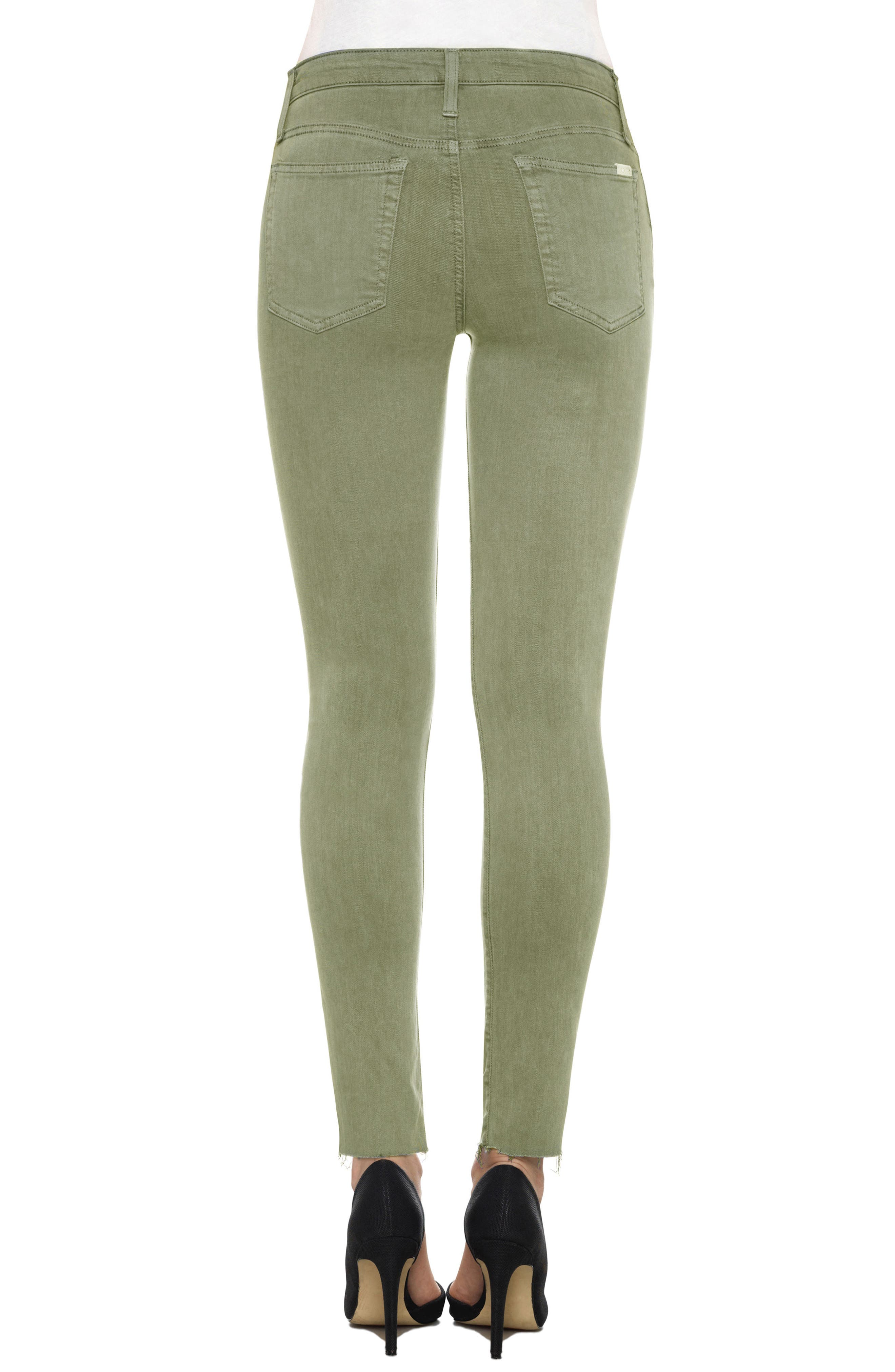 Charlie High Rise Ankle Skinny Jeans,                             Alternate thumbnail 14, color,