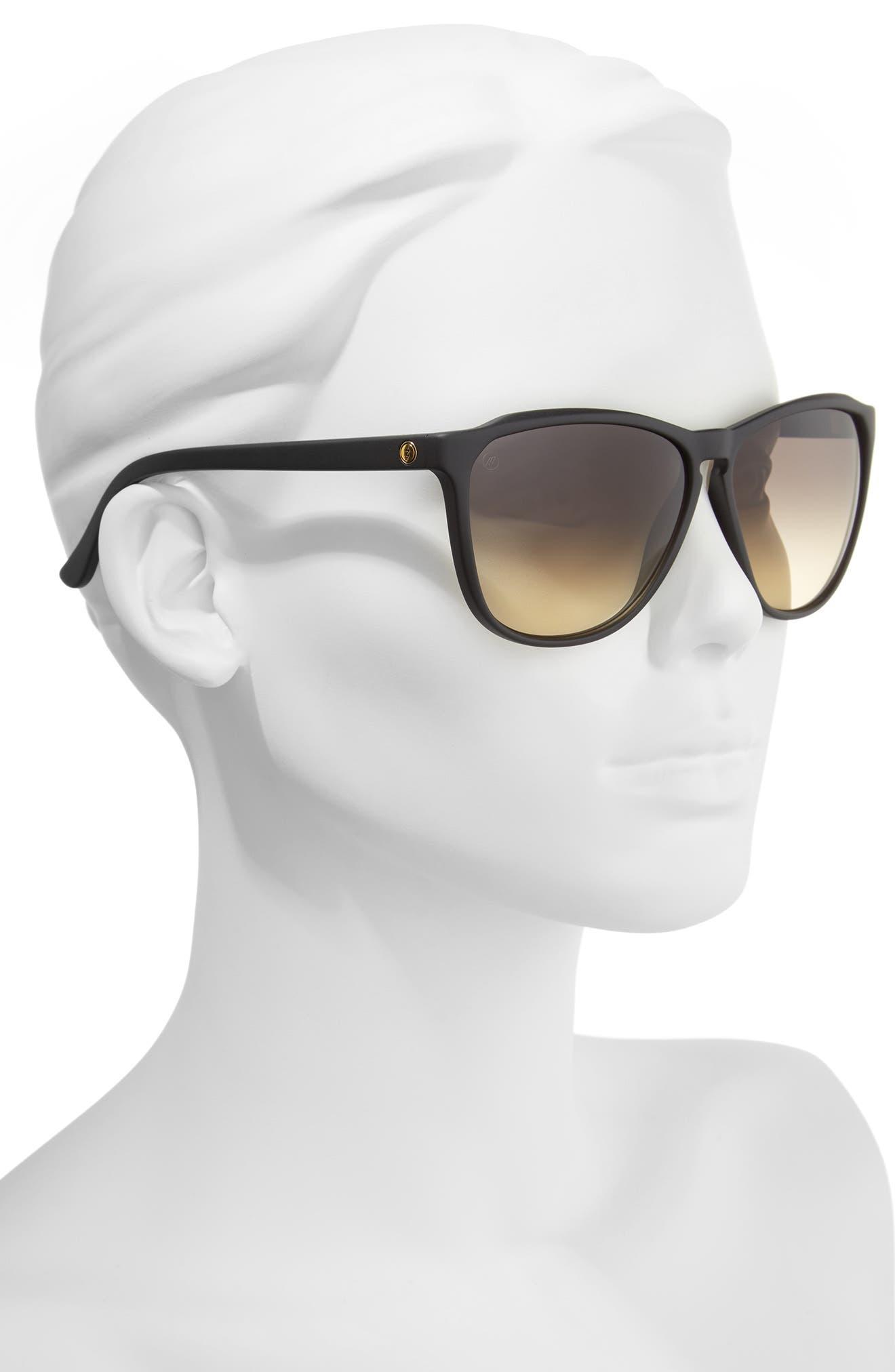 'Encelia' 66mm Retro Sunglasses,                             Alternate thumbnail 2, color,                             001