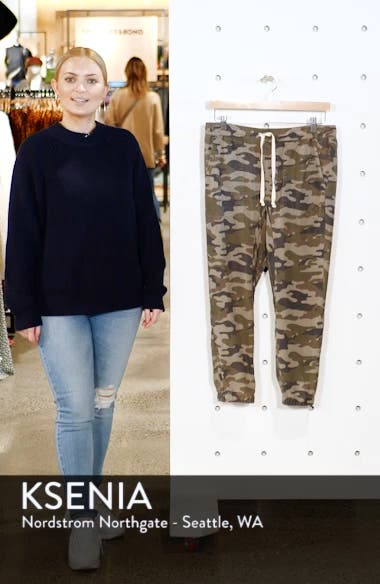 Clay Camo Lace-Up Pants, sales video thumbnail
