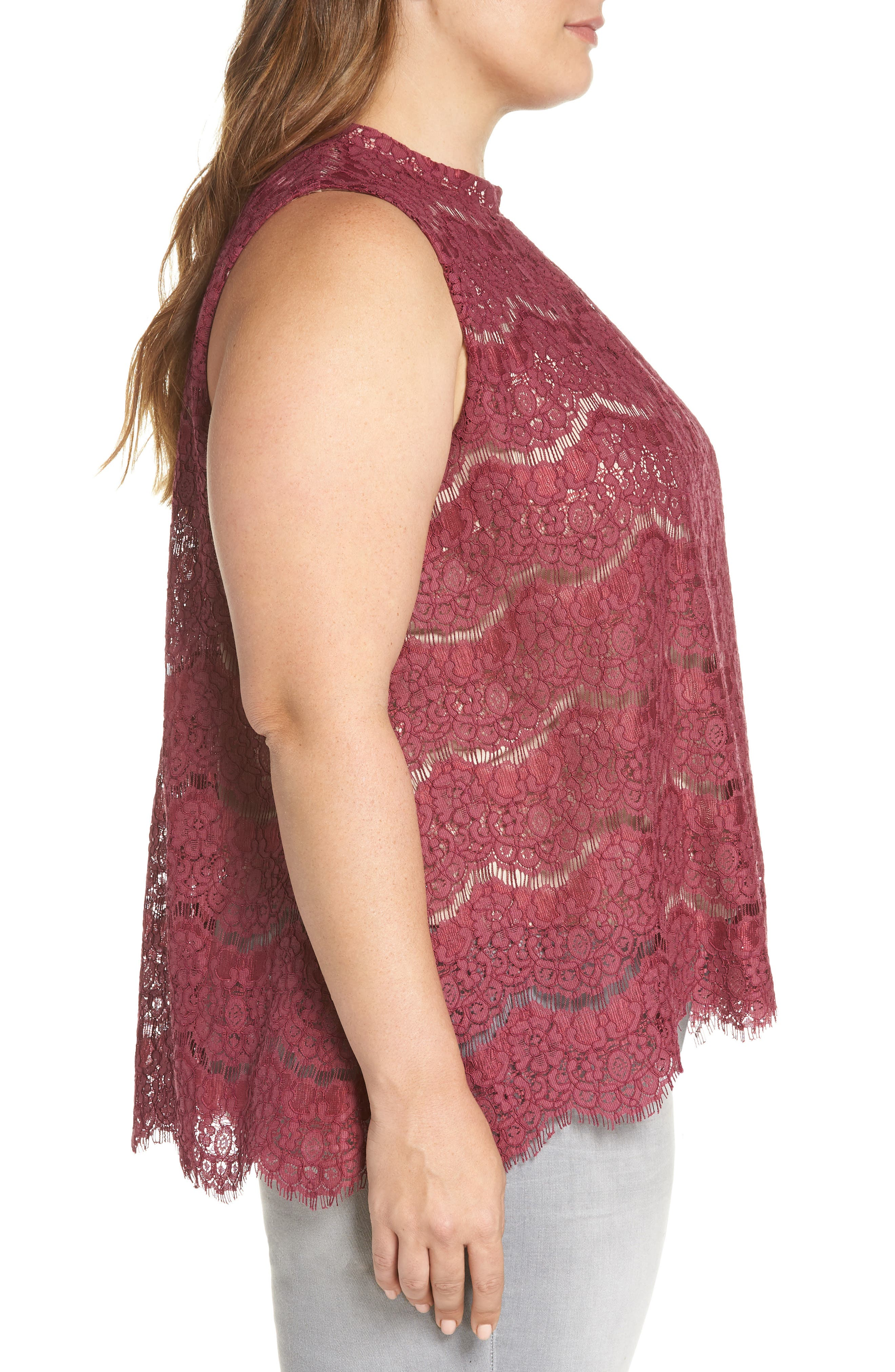 Lace Top,                             Alternate thumbnail 9, color,