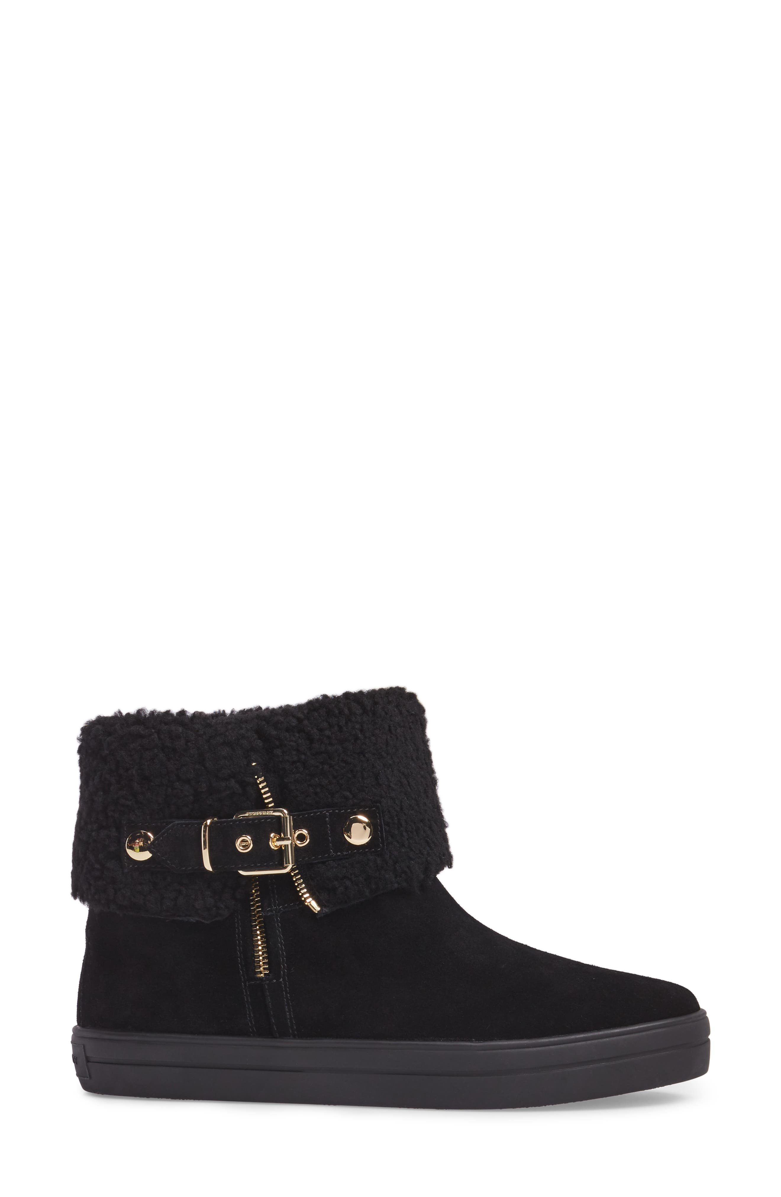 Genuine Shearling Boot,                             Alternate thumbnail 5, color,