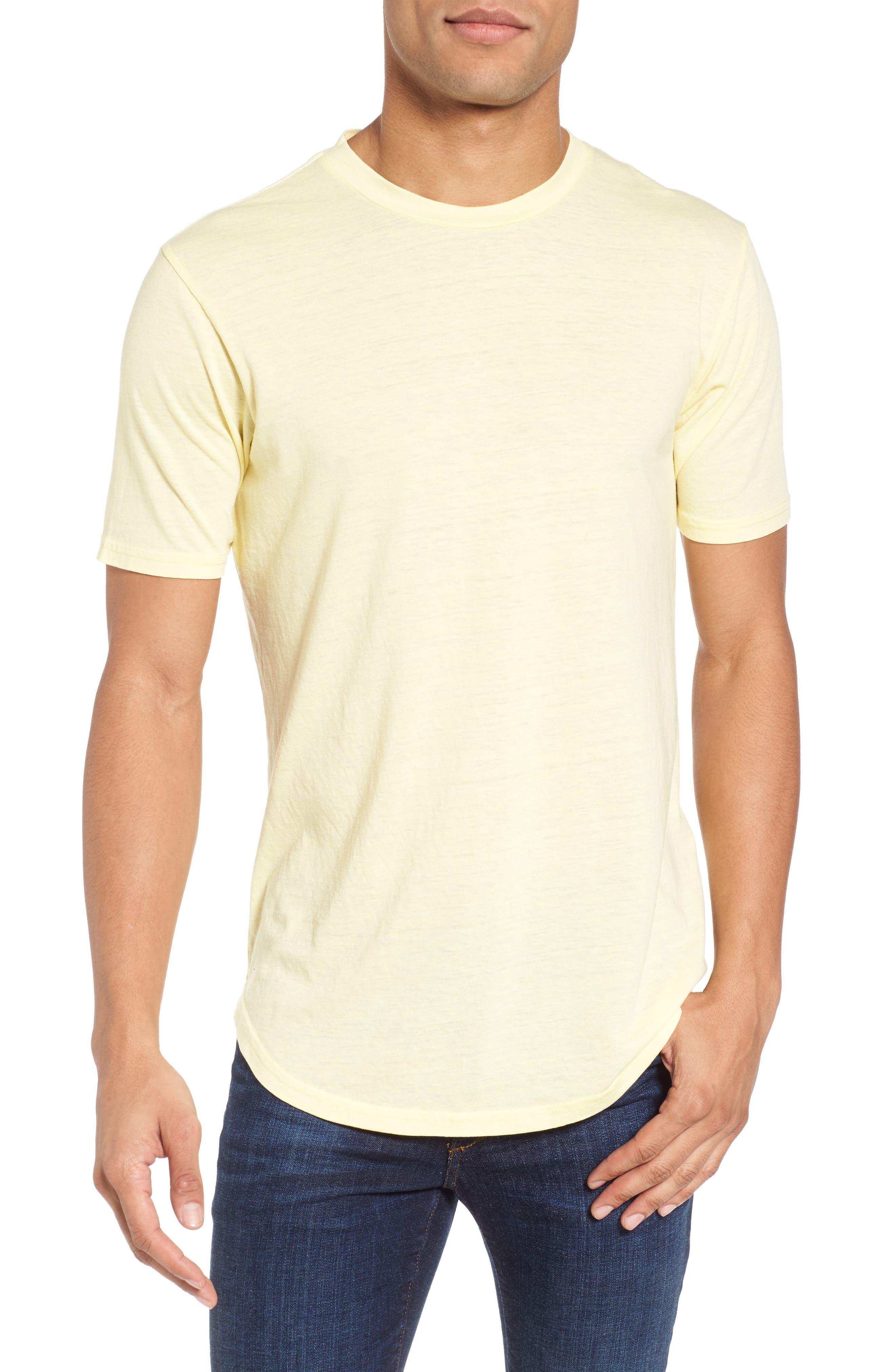 Scallop Triblend Crewneck T-Shirt,                             Main thumbnail 2, color,