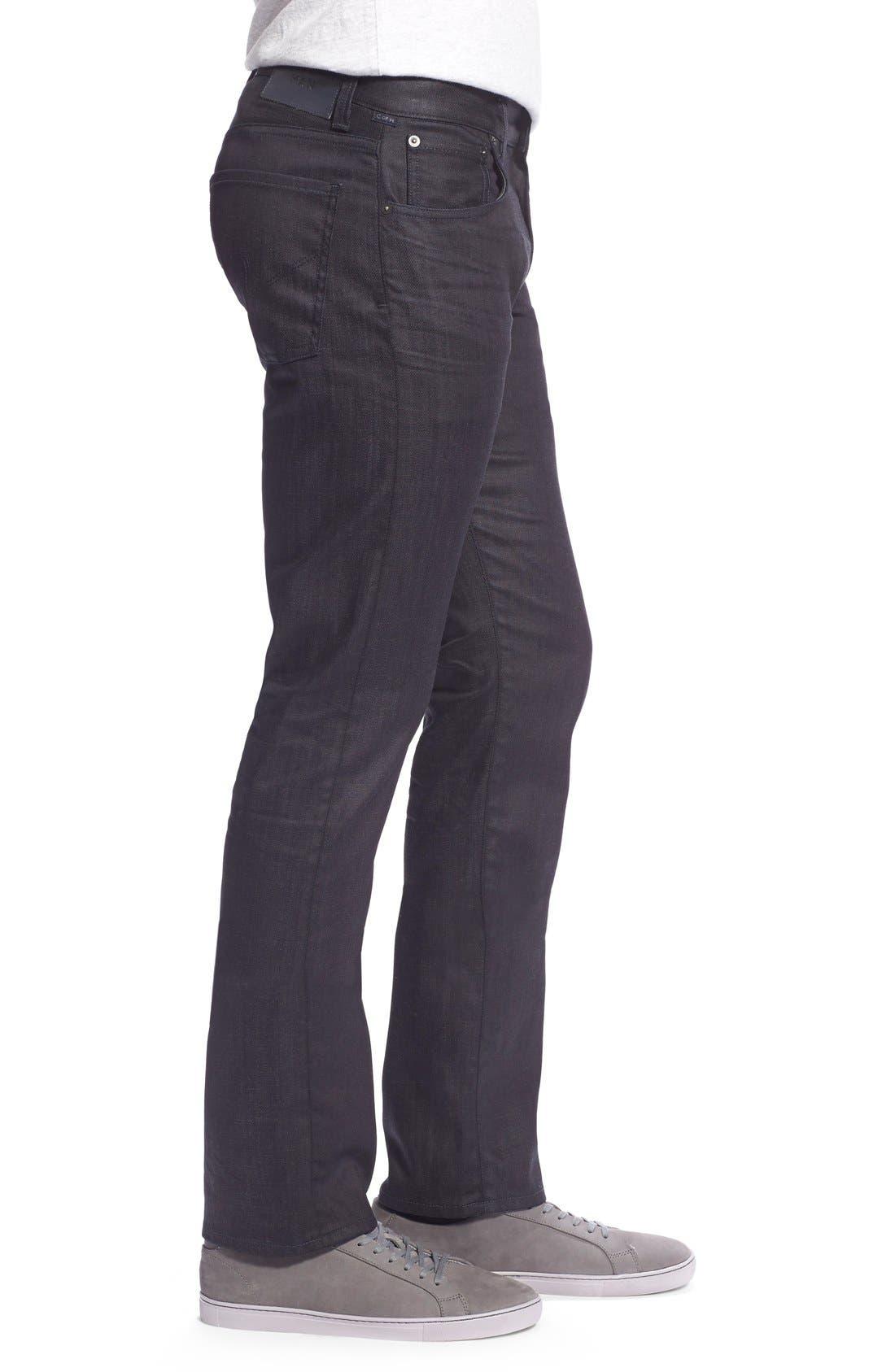 'Core' Slim Fit Jeans,                             Alternate thumbnail 4, color,                             PRESTIGE