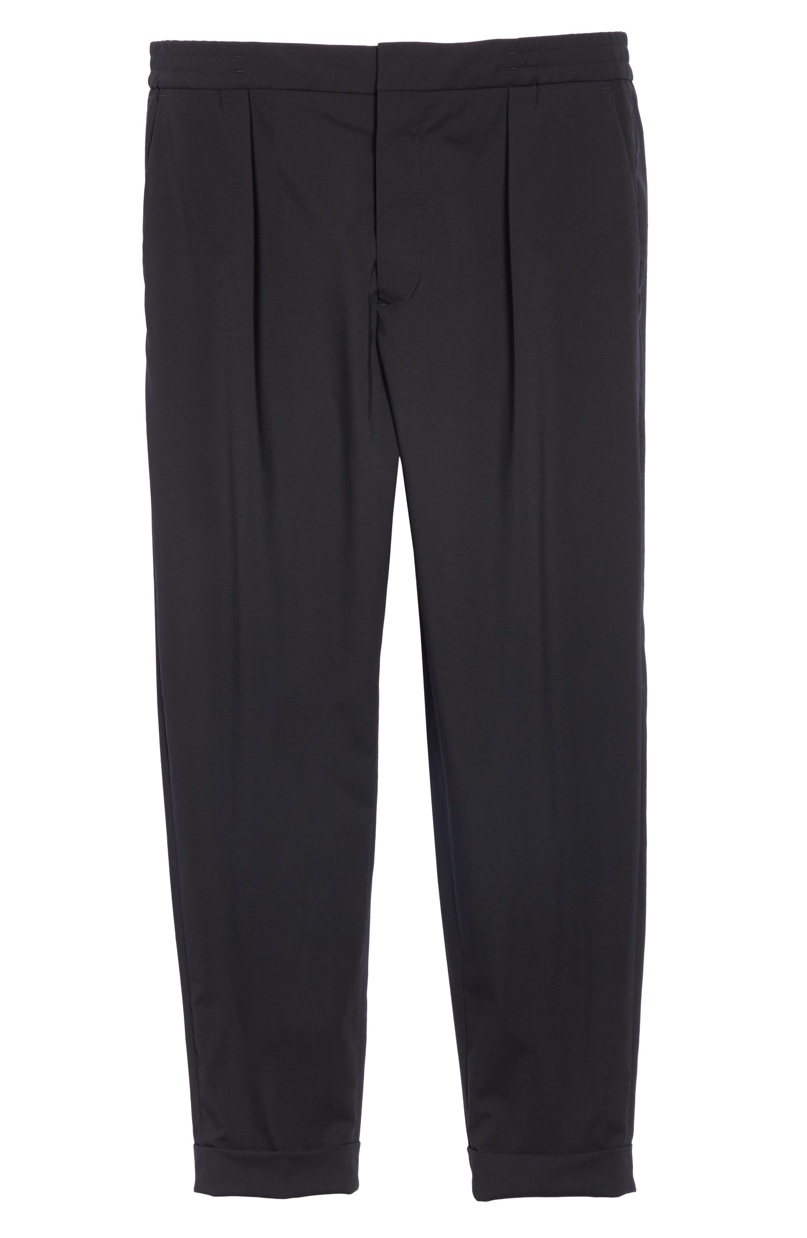 Barena Venzia Tropical Wool Pants,                             Alternate thumbnail 6, color,                             001